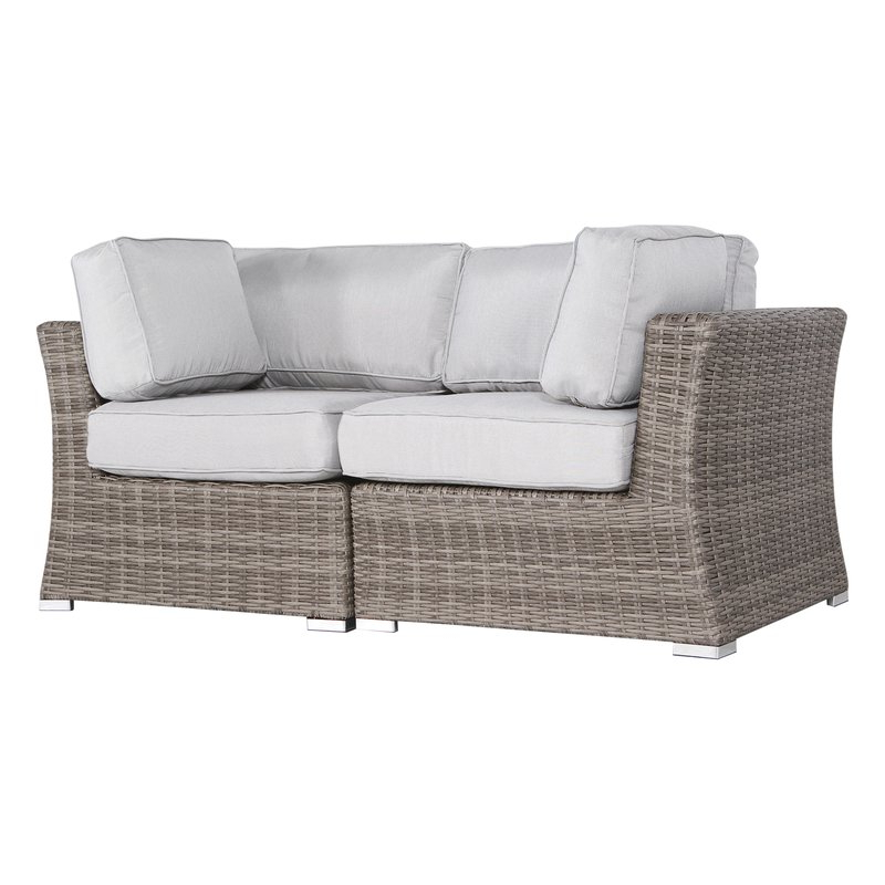Huddleson Contemporary Loveseat With Cushion Within Most Current Huddleson Loveseats With Cushion (View 5 of 20)