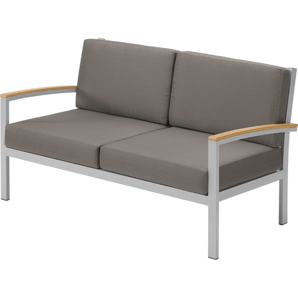 Huddleson Loveseats With Cushion Regarding Popular Caspian Loveseat With Cushions # (View 18 of 20)