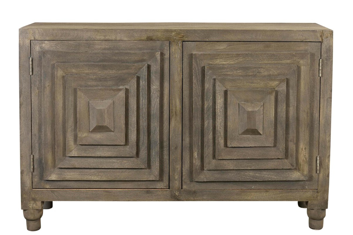 Hurry Smeltzer Sideboard Designedwrought Studio Proven With Regard To Well Known Baleine 3 Drawer Sideboards (View 11 of 20)