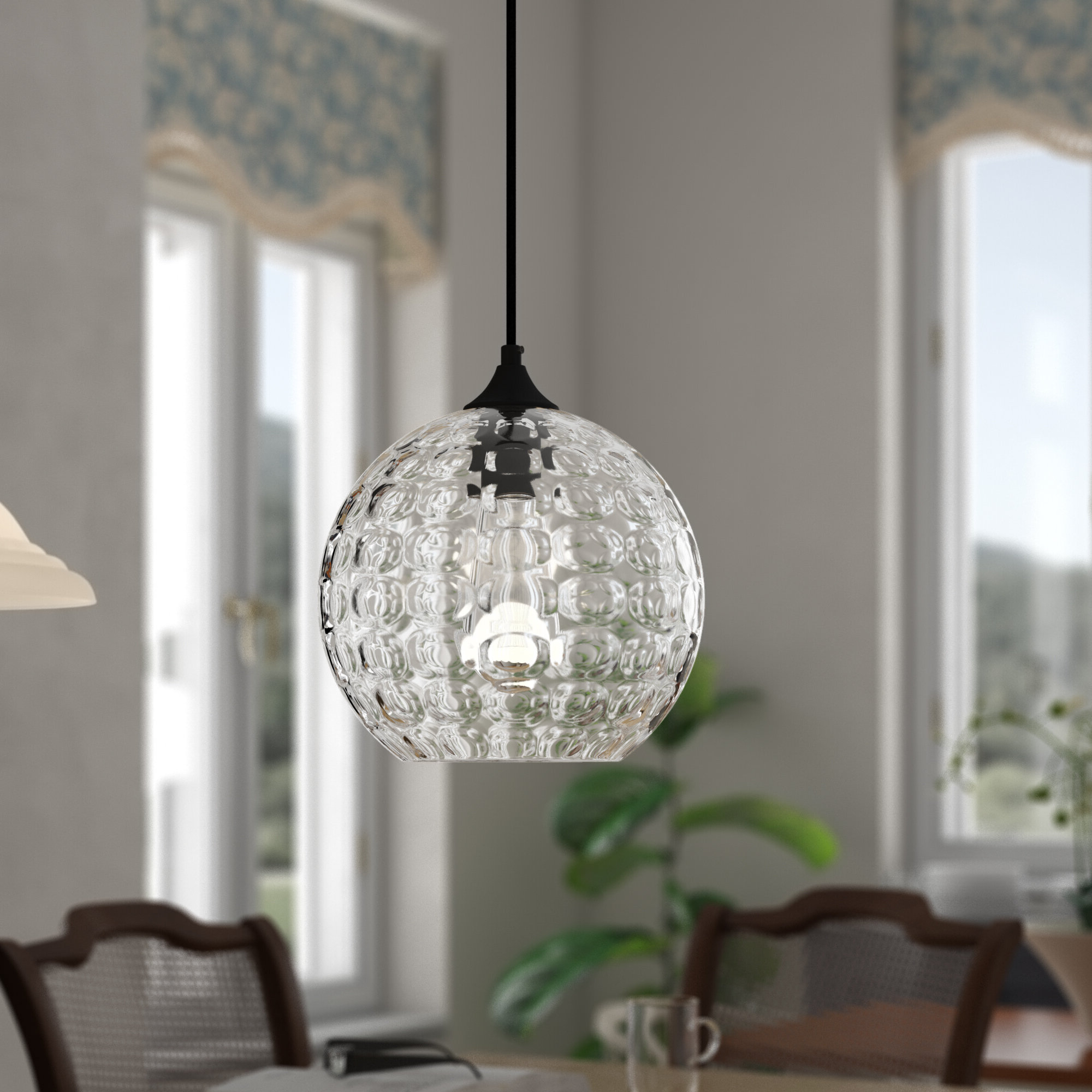 Hurst 1 Light Single Cylinder Pendants Throughout Well Known Zulma 1 Light Globe Pendant (View 10 of 20)
