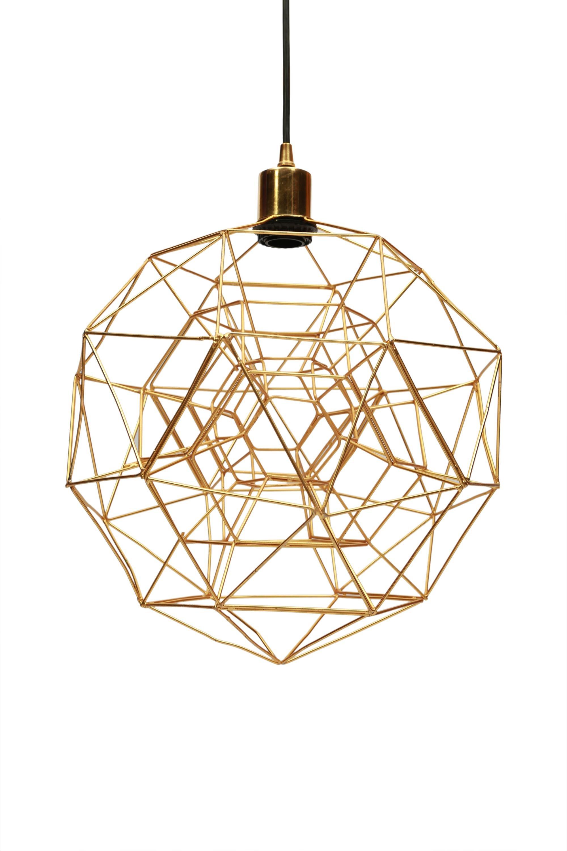 Hydetown 1 Light Single Geometric Pendants Pertaining To Current Tinney 1 Light Geometric Pendant (Gallery 4 of 20)