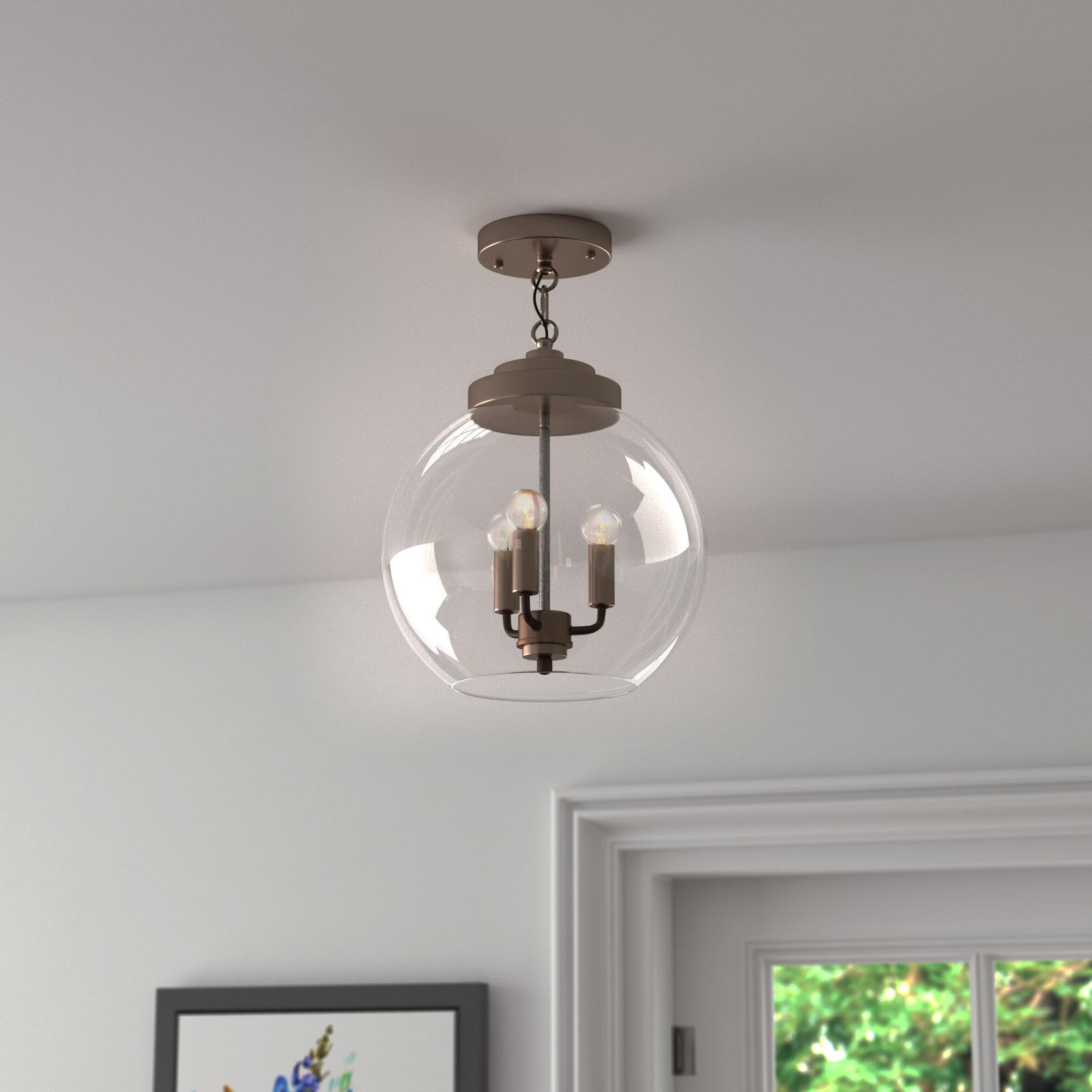 Isoline 2 Light Lantern Geometric Pendants For Latest Everly Quinn Isoline 2 Light Lantern Geometric Pendant (View 5 of 20)