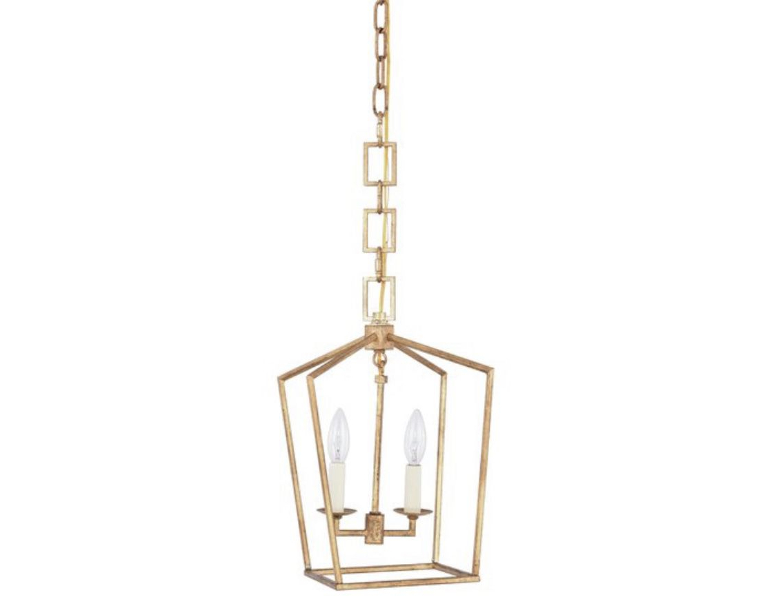 Isoline 2 Light Lantern Geometric Pendants Intended For Most Up To Date Isoline 2 Light Geometric Pendant In  (View 7 of 20)