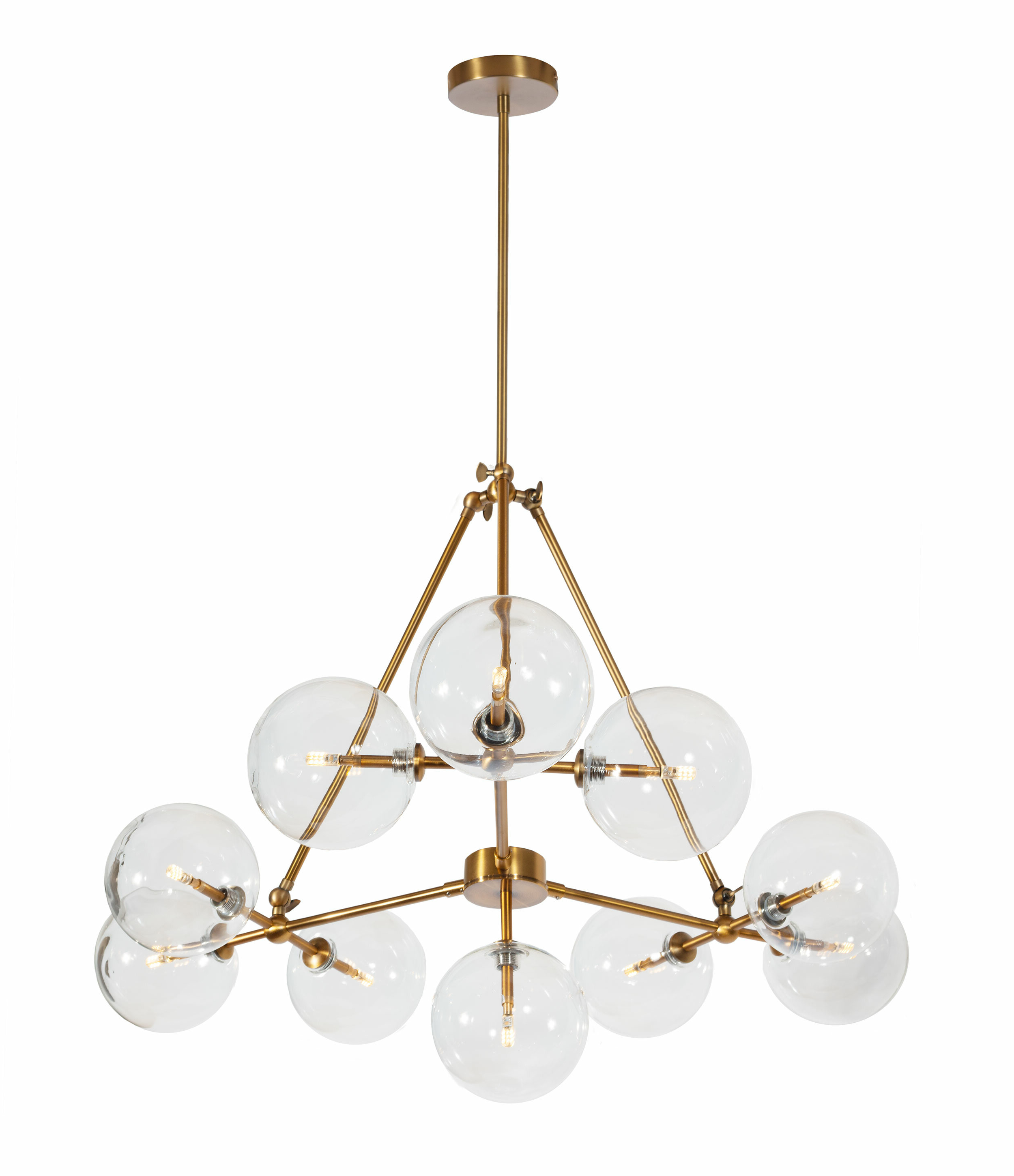 Jamie 10 Light Sputnik Chandelier With Well Liked Asher 12 Light Sputnik Chandeliers (View 12 of 20)