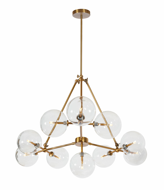 Jamie 10 Light Sputnik Chandelier With Well Liked Asher 12 Light Sputnik Chandeliers (Gallery 17 of 20)