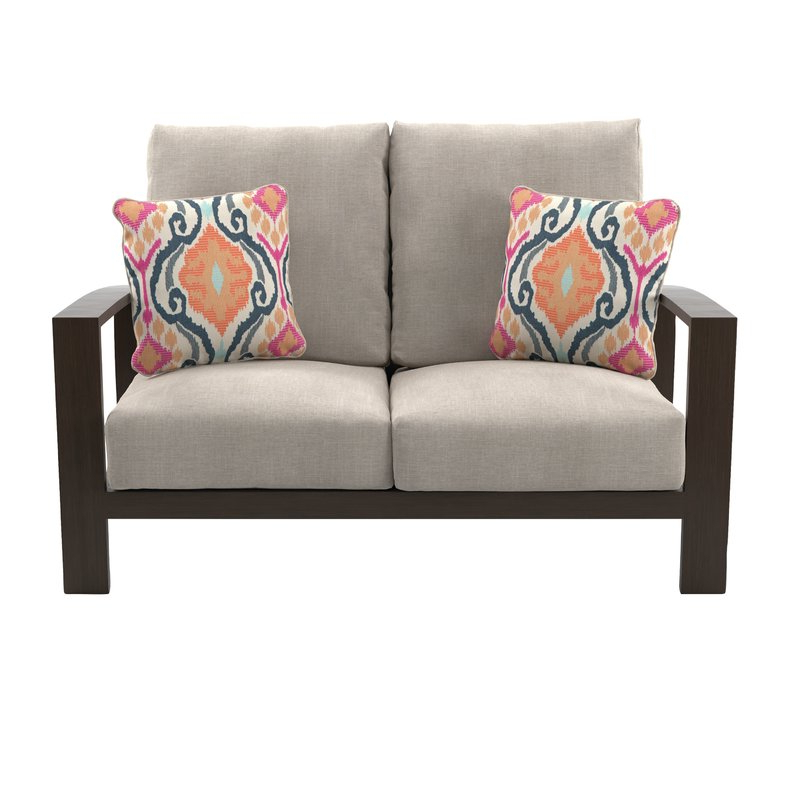 Jay Loveseat With Cushions In 2019 Baltic Loveseats With Cushions (View 11 of 20)