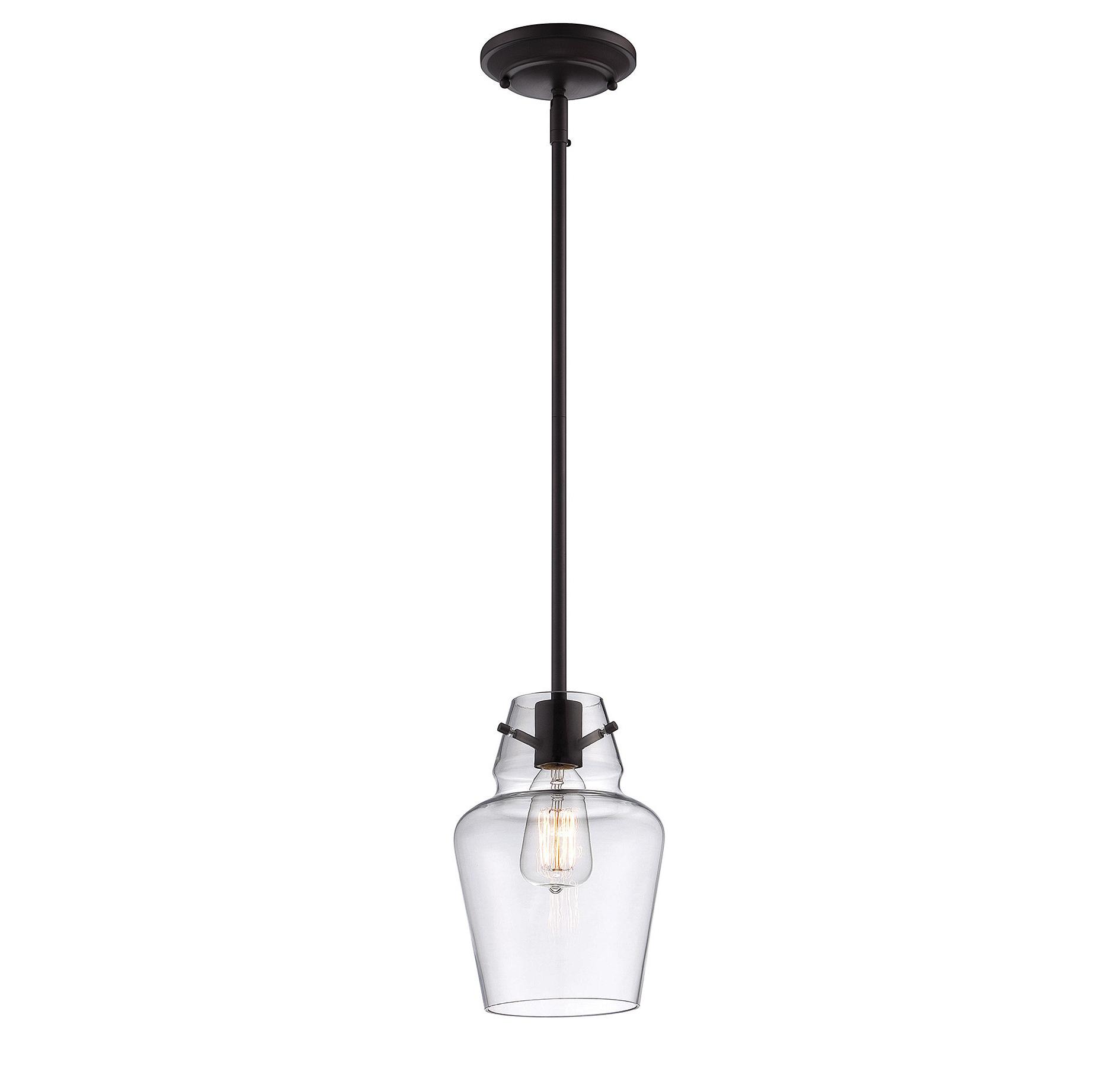 Jayce 1 Light Cylinder Pendants For Most Recent Roslindale 1 Light Bell Pendant (Gallery 16 of 20)