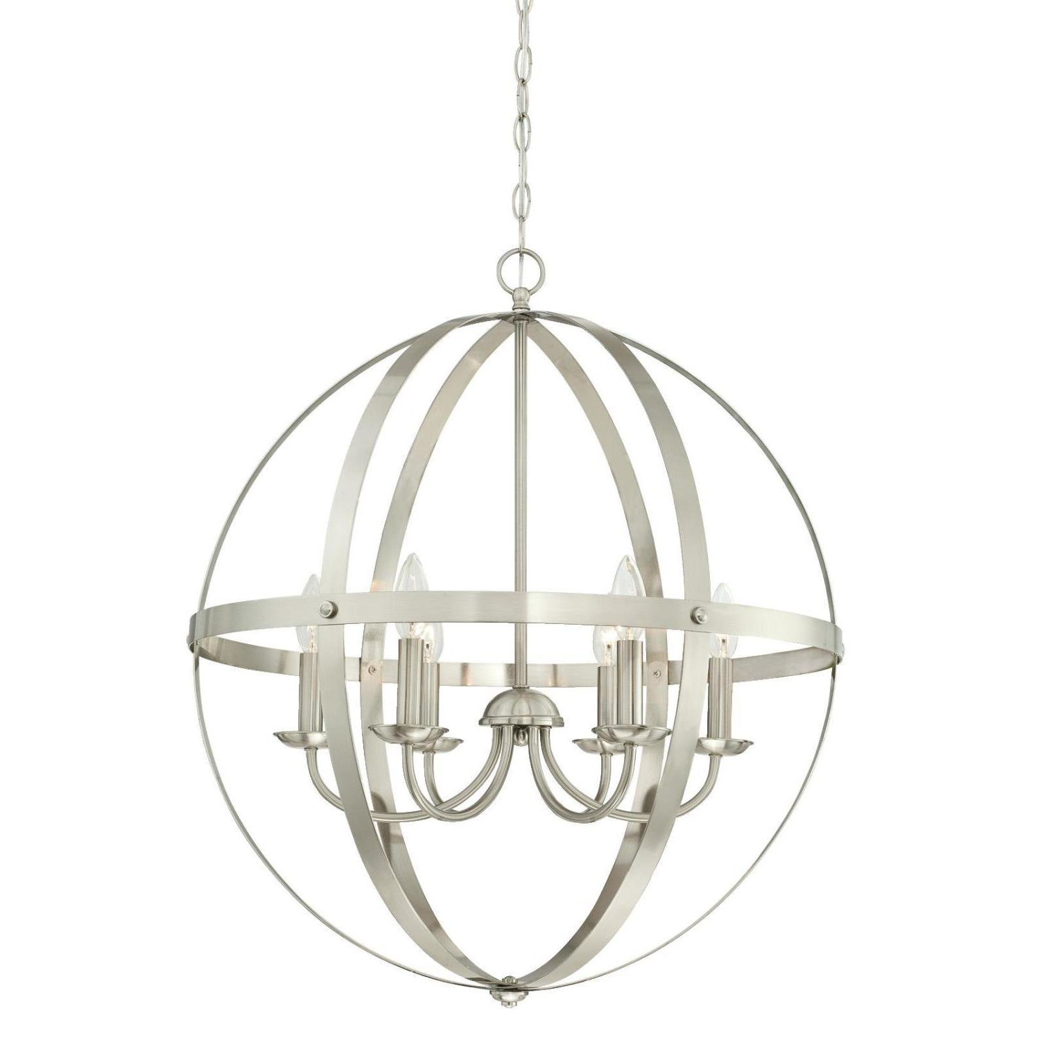 Joon 6 Light Globe Chandelier With Regard To Preferred Joon 6 Light Globe Chandeliers (Gallery 2 of 20)