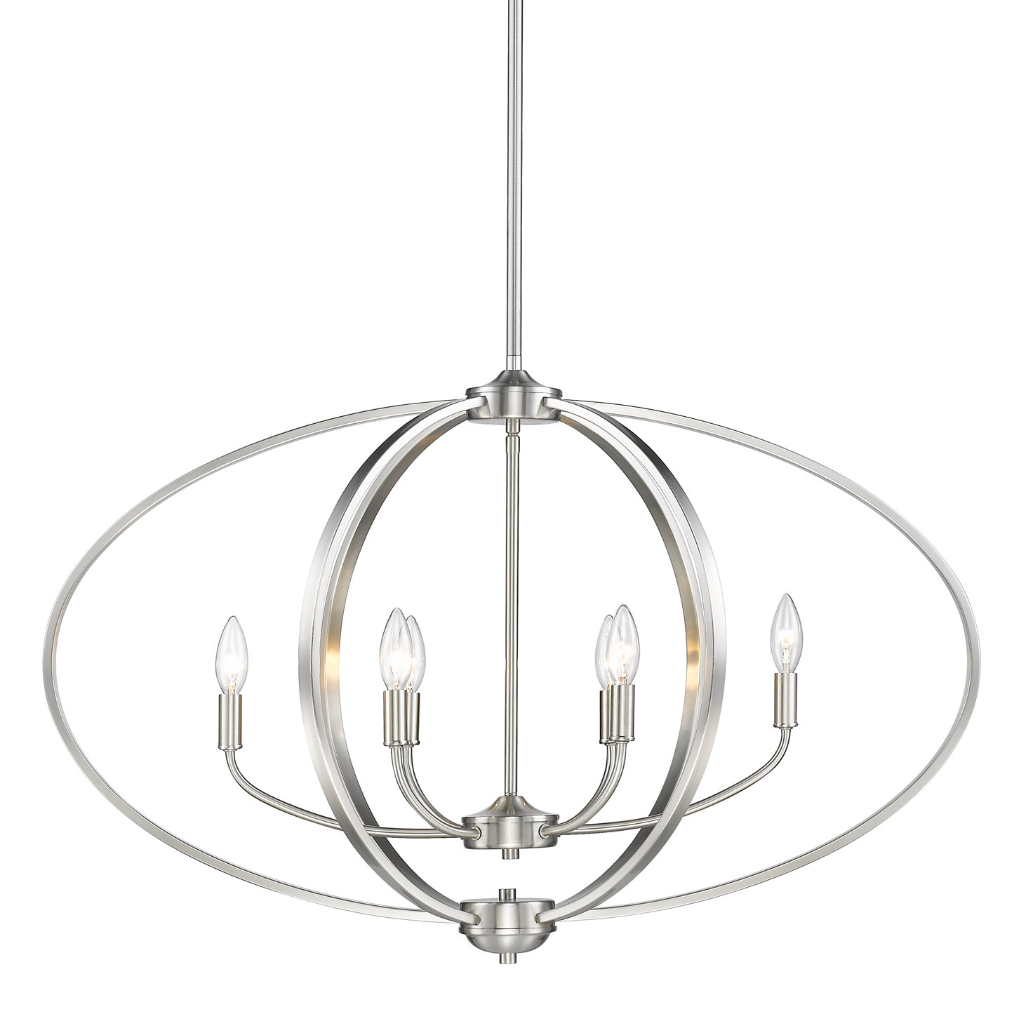 Joon 6 Light Globe Chandeliers Throughout Most Popular Earlene 6 Light Globe Chandelier (Gallery 7 of 20)