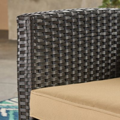 Joss & Main For Famous Mullenax Outdoor Loveseats With Cushions (View 7 of 20)