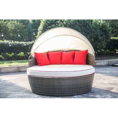 Joss & Main In Fansler Patio Daybeds With Cushions (View 11 of 20)