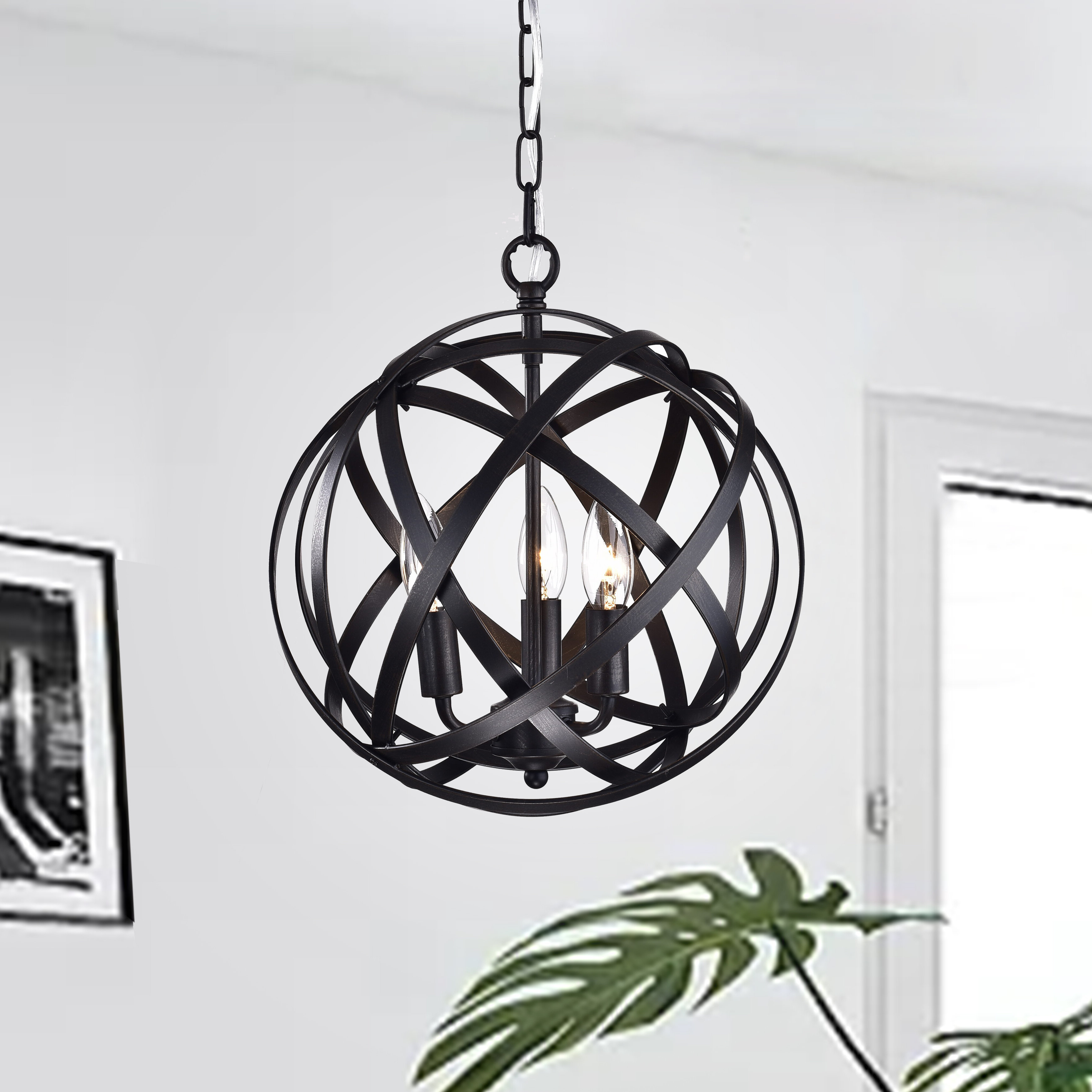 Joss & Main Throughout Popular Alden 3 Light Single Globe Pendants (Gallery 19 of 20)