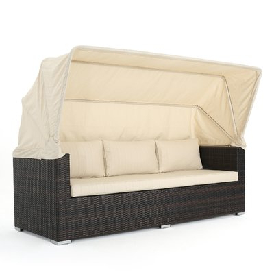 Joss & Main With Lammers Outdoor Wicker Daybeds With Cushions (View 7 of 20)
