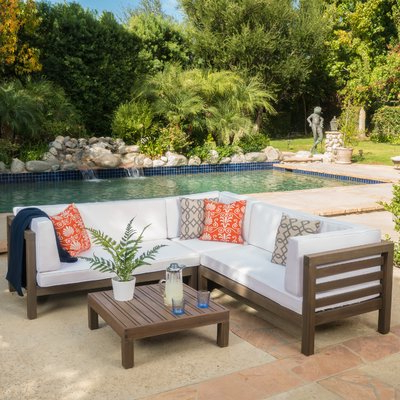 Joss With Newest Seaham Patio Sectionals With Cushions (View 4 of 20)