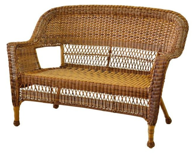 Featured Photo of Karan Wicker Patio Loveseats