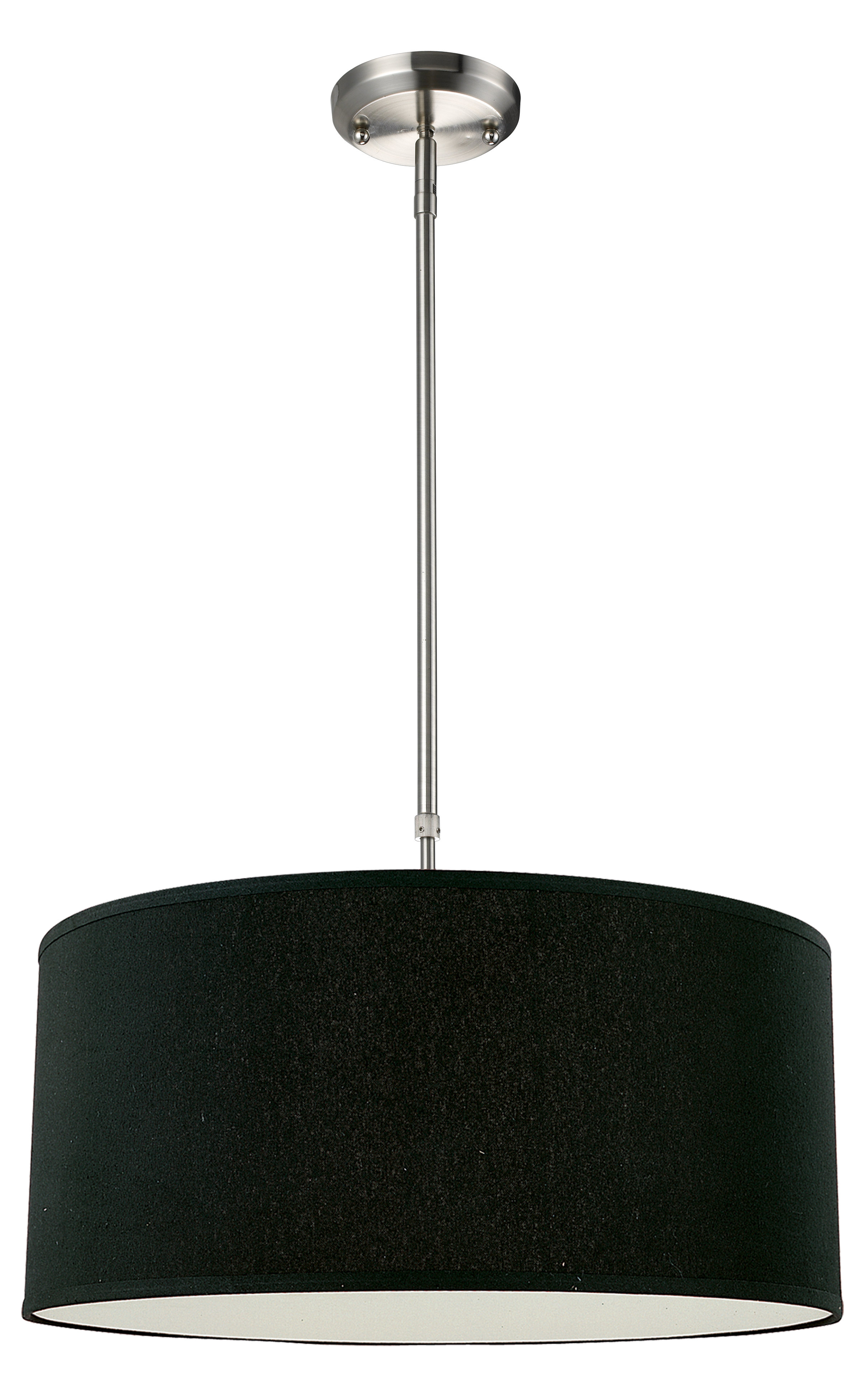 Kasey 3 Light Drum Pendant With Regard To Newest Kasey 3 Light Single Drum Pendants (View 5 of 20)