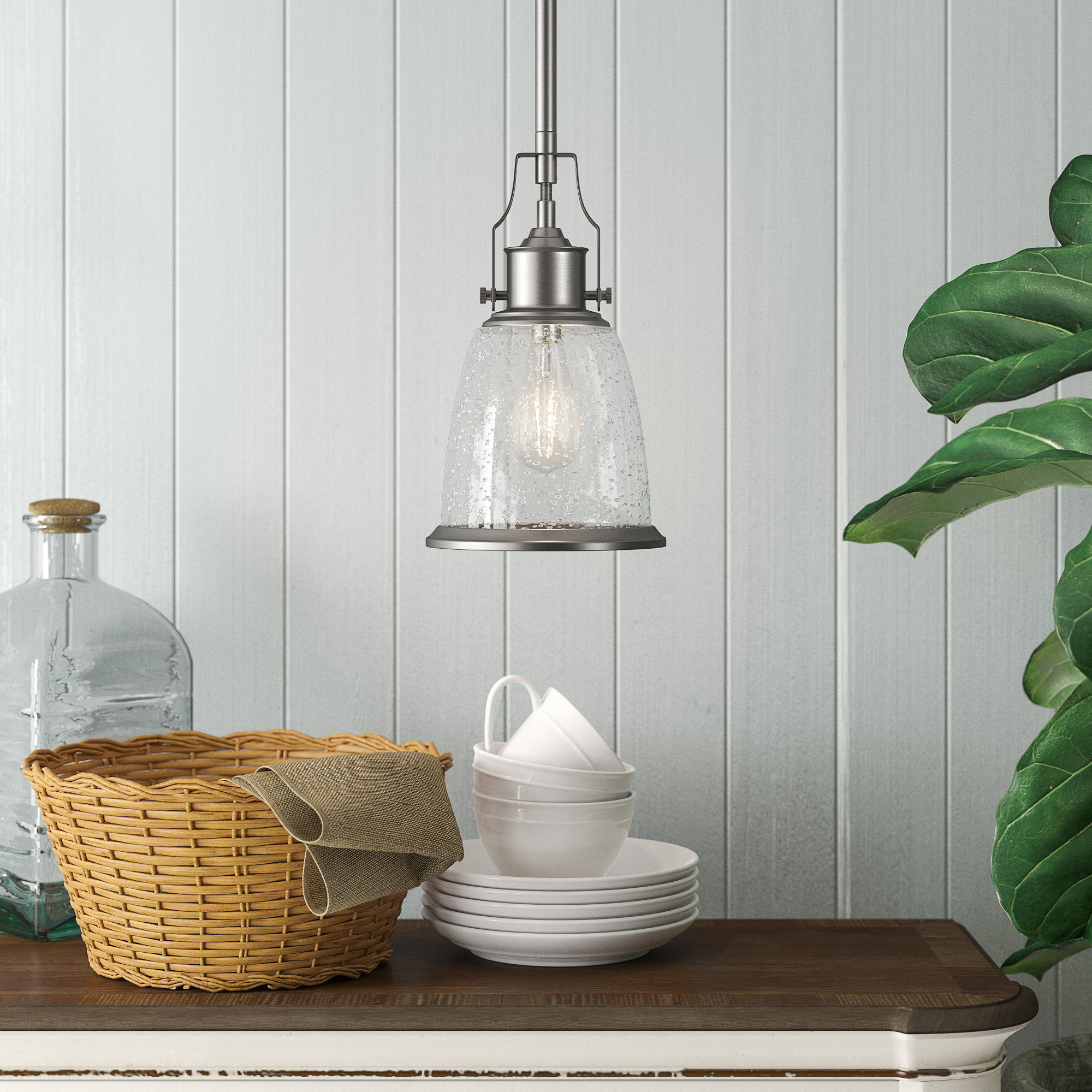 Kathi 1 Light Cone Pendant With Regard To Most Recently Released Devereaux 1 Light Single Globe Pendants (Gallery 3 of 20)