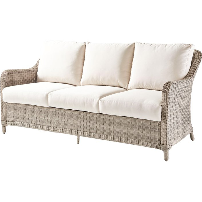 Keever Patio Sofa With Sunbrella Cushions With Well Known Keever Patio Sofas With Sunbrella Cushions (Gallery 1 of 20)