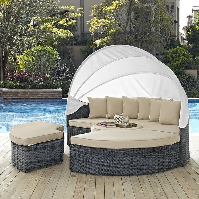 Keiran Daybeds With Cushions In Trendy Keiran Daybed With Cushions (Gallery 1 of 20)