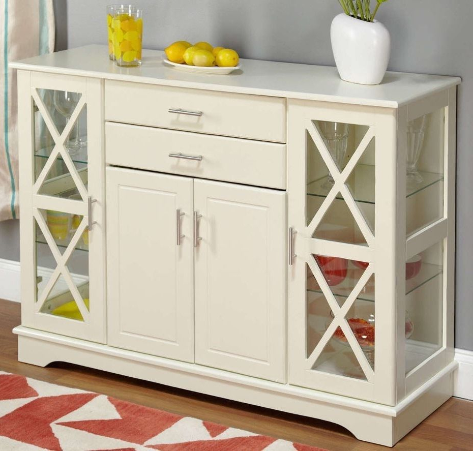 Kendall Sideboards Pertaining To Most Popular Buffet Table Sideboards Servers Furniture Dining Room (View 10 of 20)