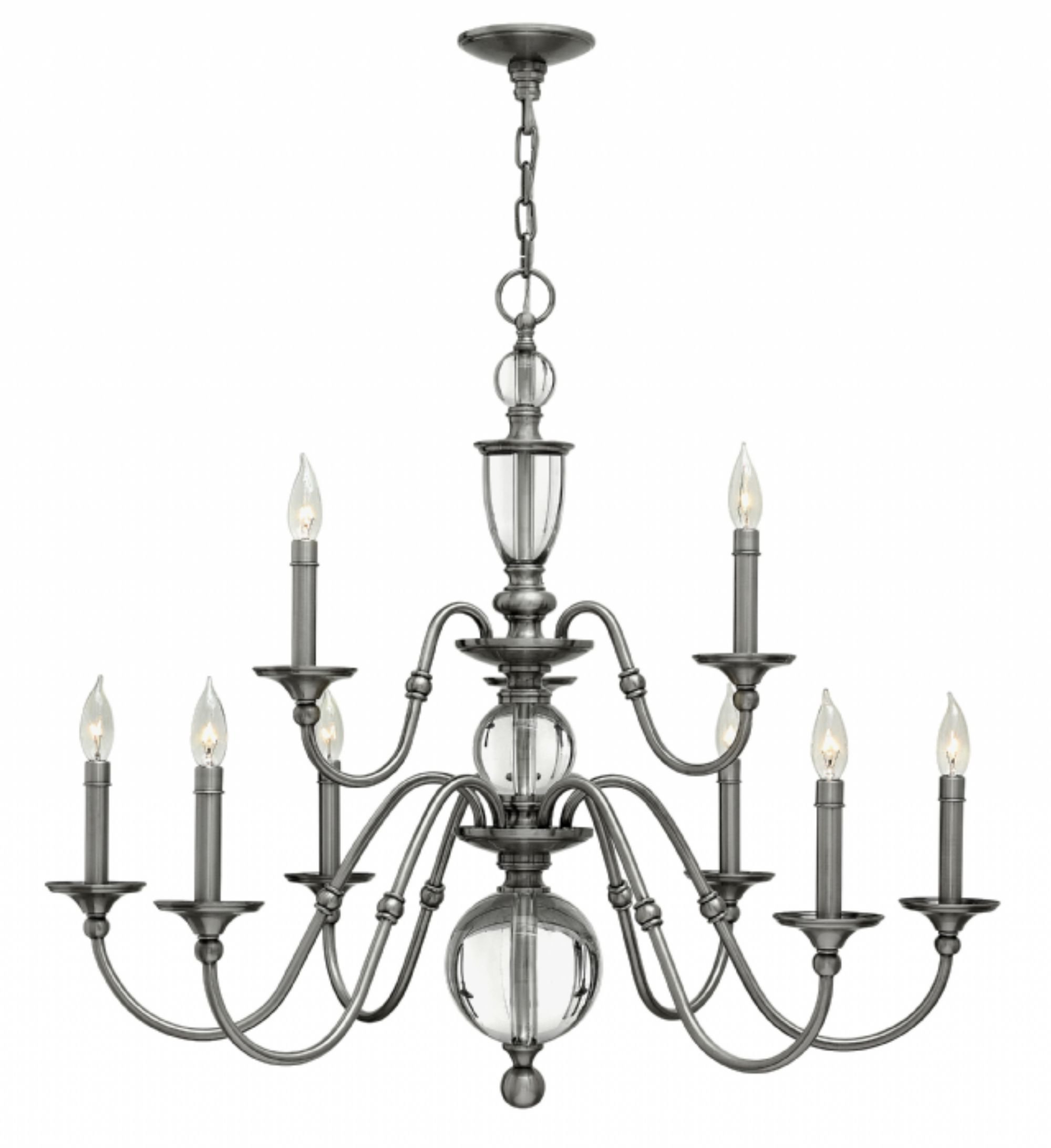 Kenedy 9 Light Candle Style Chandeliers Regarding Latest Eleanor 9 Light Chandelier (Gallery 17 of 20)