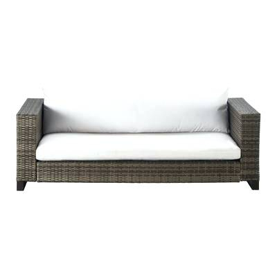 Kentwood Resin Wicker Loveseats Throughout Preferred Resin Wicker Loveseat Glider Outdoor Patio Chair With (View 10 of 20)