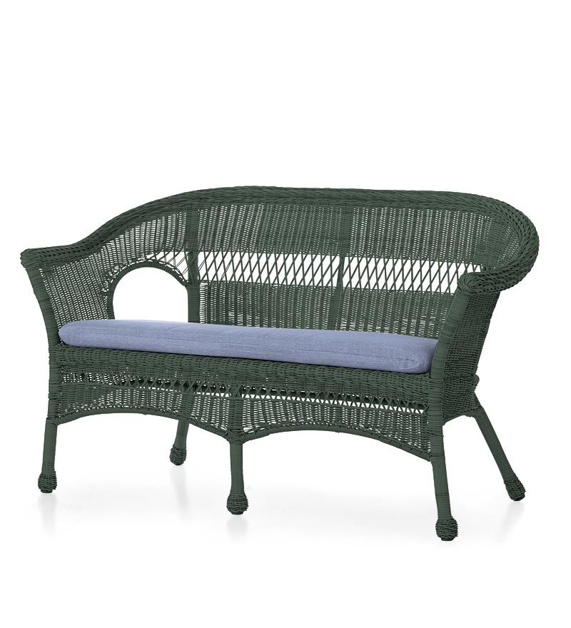 Kentwood Resin Wicker Loveseats With Regard To Best And Newest Value Priced Lightweight, All Weather Resin Outdoor Wicker (Gallery 8 of 20)
