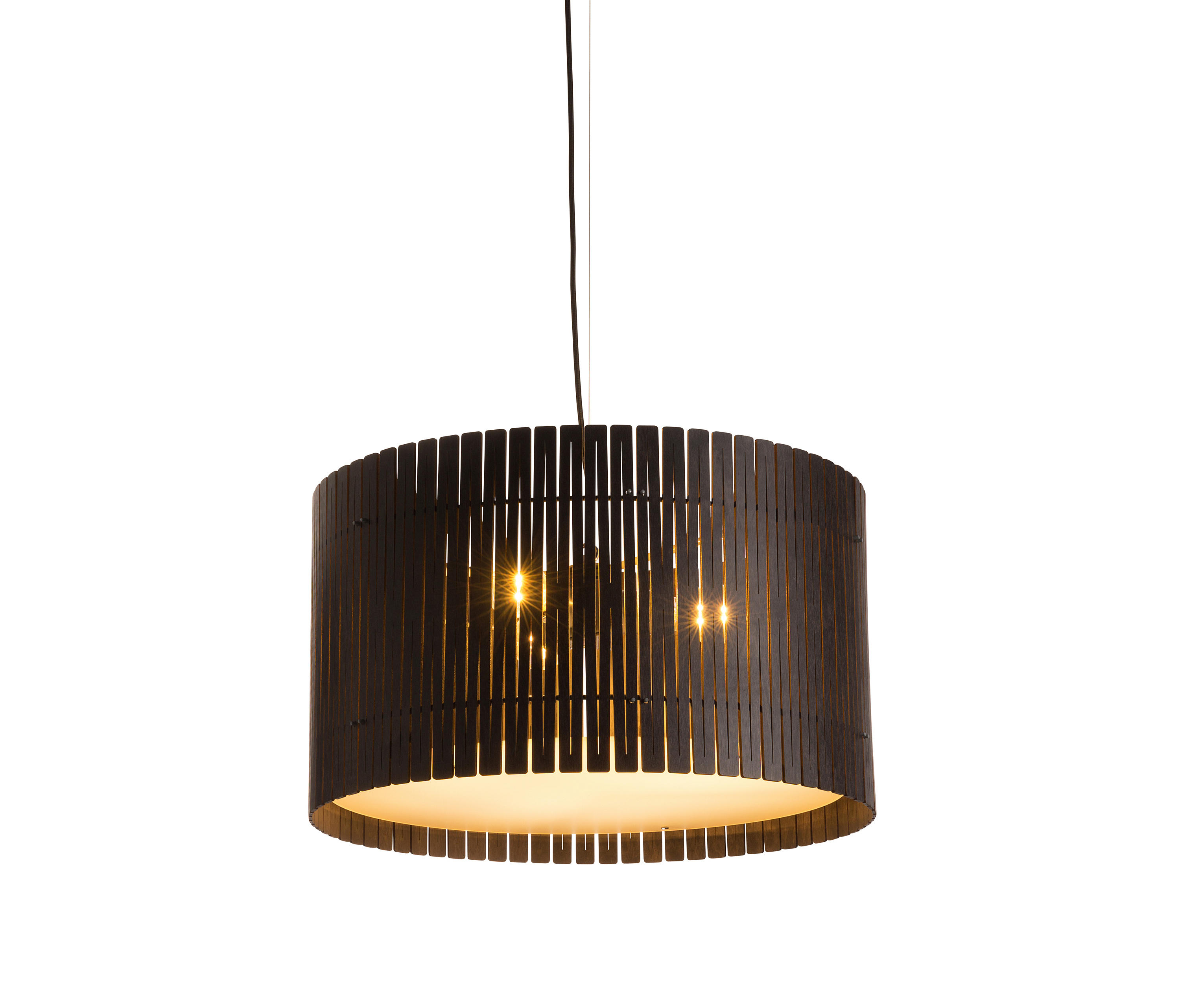 Kerflight D6 Drum Pendant Espresso – Suspended Lights From Within Well Known Alverez 4 Light Drum Chandeliers (View 11 of 20)