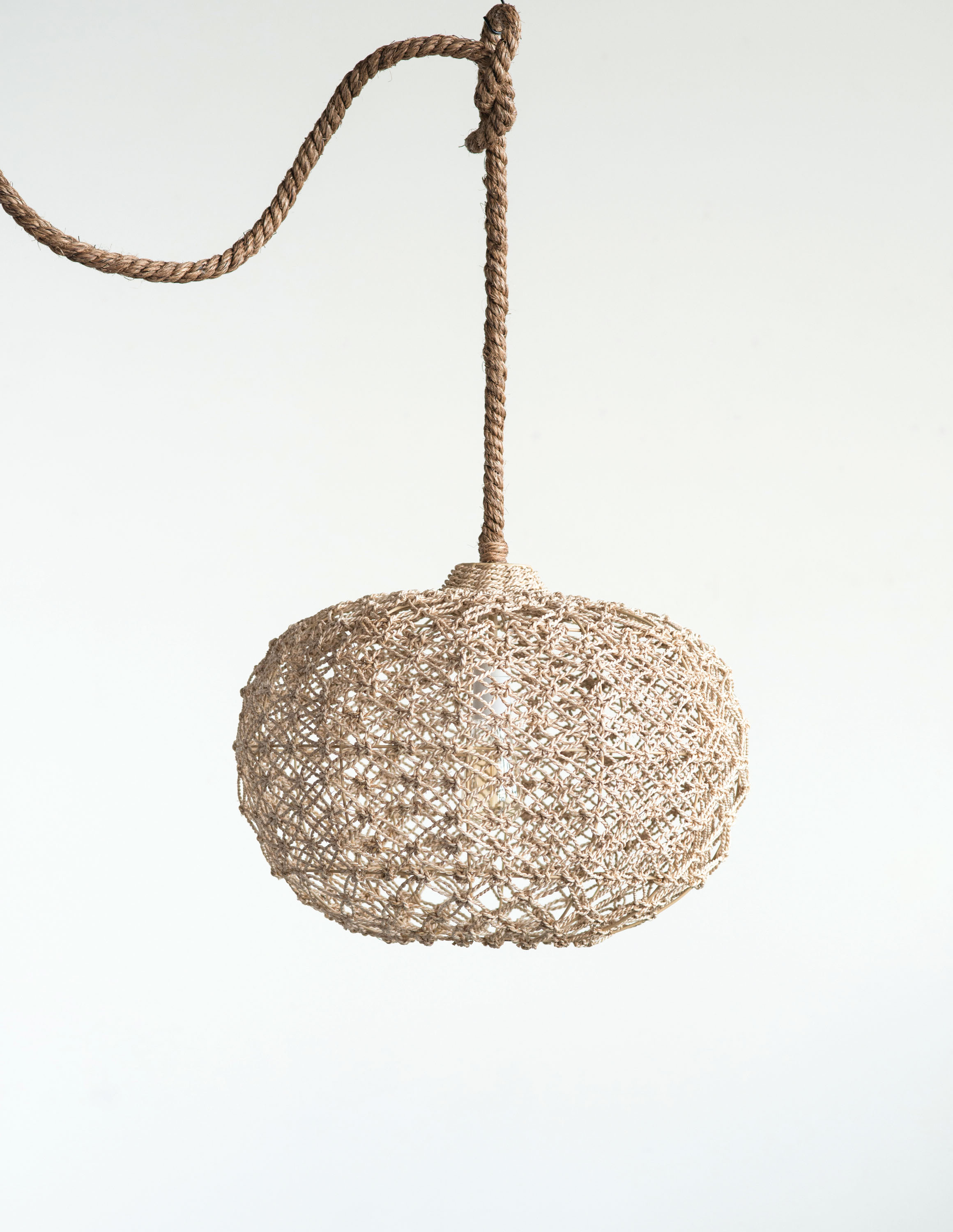Kilby Round Abaca 1 Light Globe Pendant With Regard To Most Recently Released Kilby 1 Light Pendants (View 2 of 20)