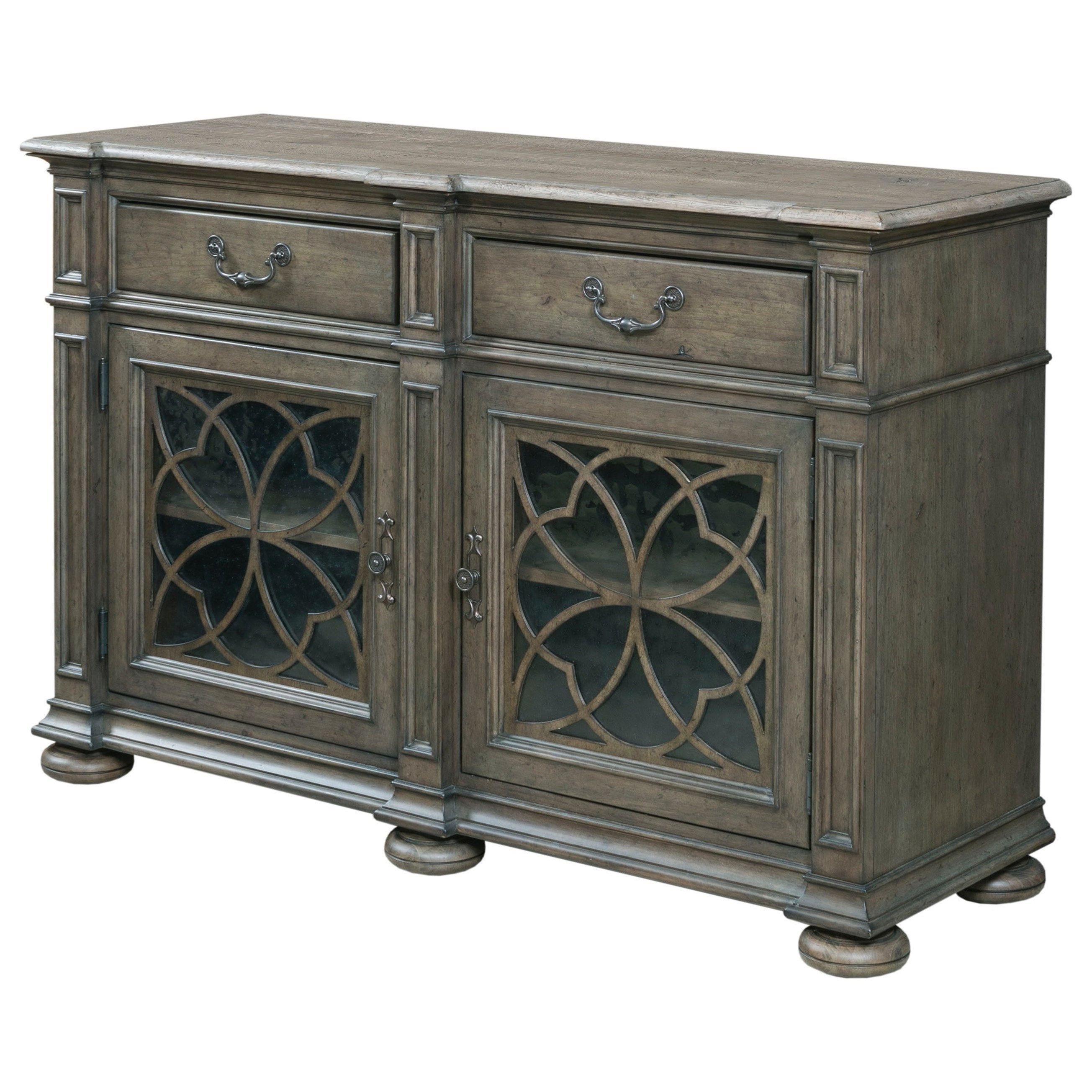 Kratz Sideboards With Regard To Current Kincaid Furniture Greyson Harper Two Door Buffet With (View 13 of 20)