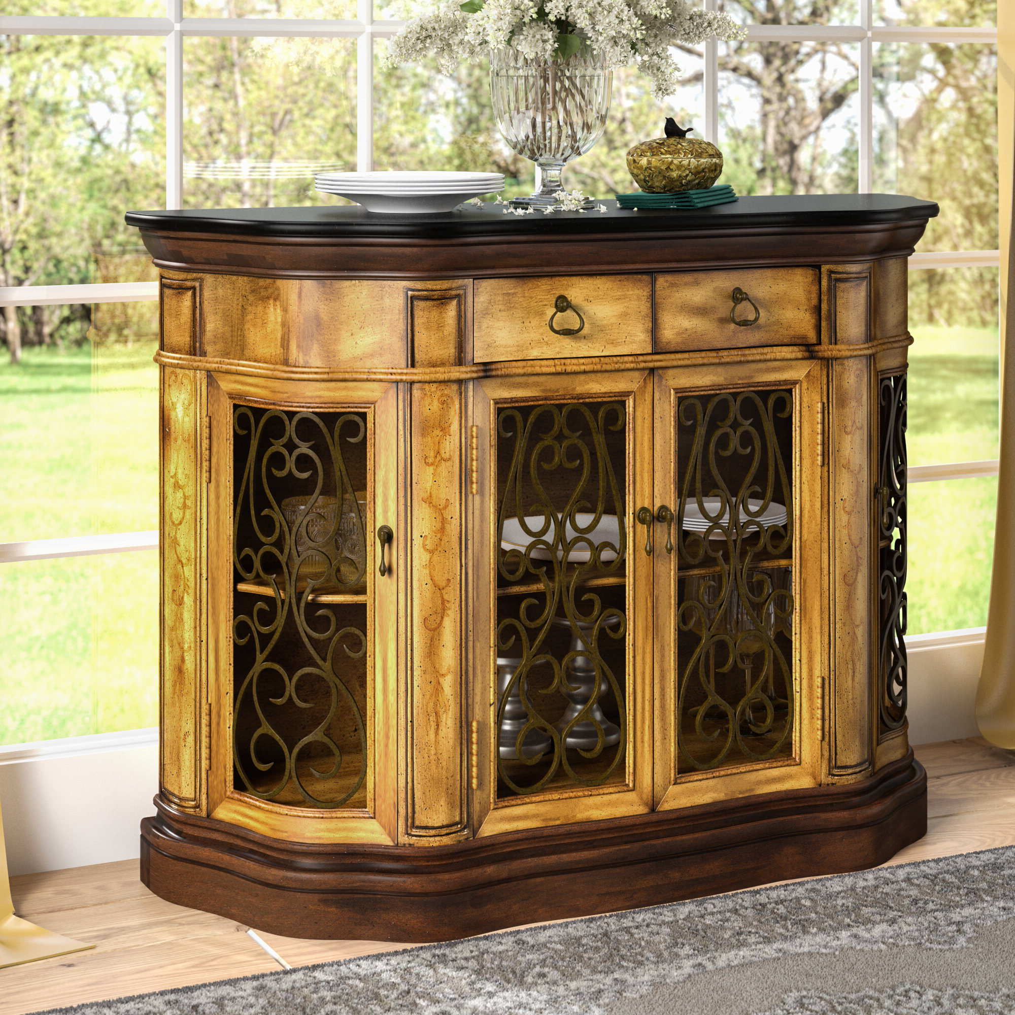 Kronburgh Sideboards Pertaining To Most Up To Date Shoreland Sideboard (View 9 of 20)