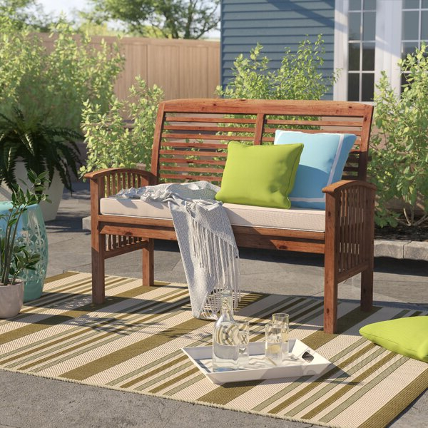 Kunz Loveseats With Cushions In Most Popular Outdoor Corner Loveseat (View 6 of 20)