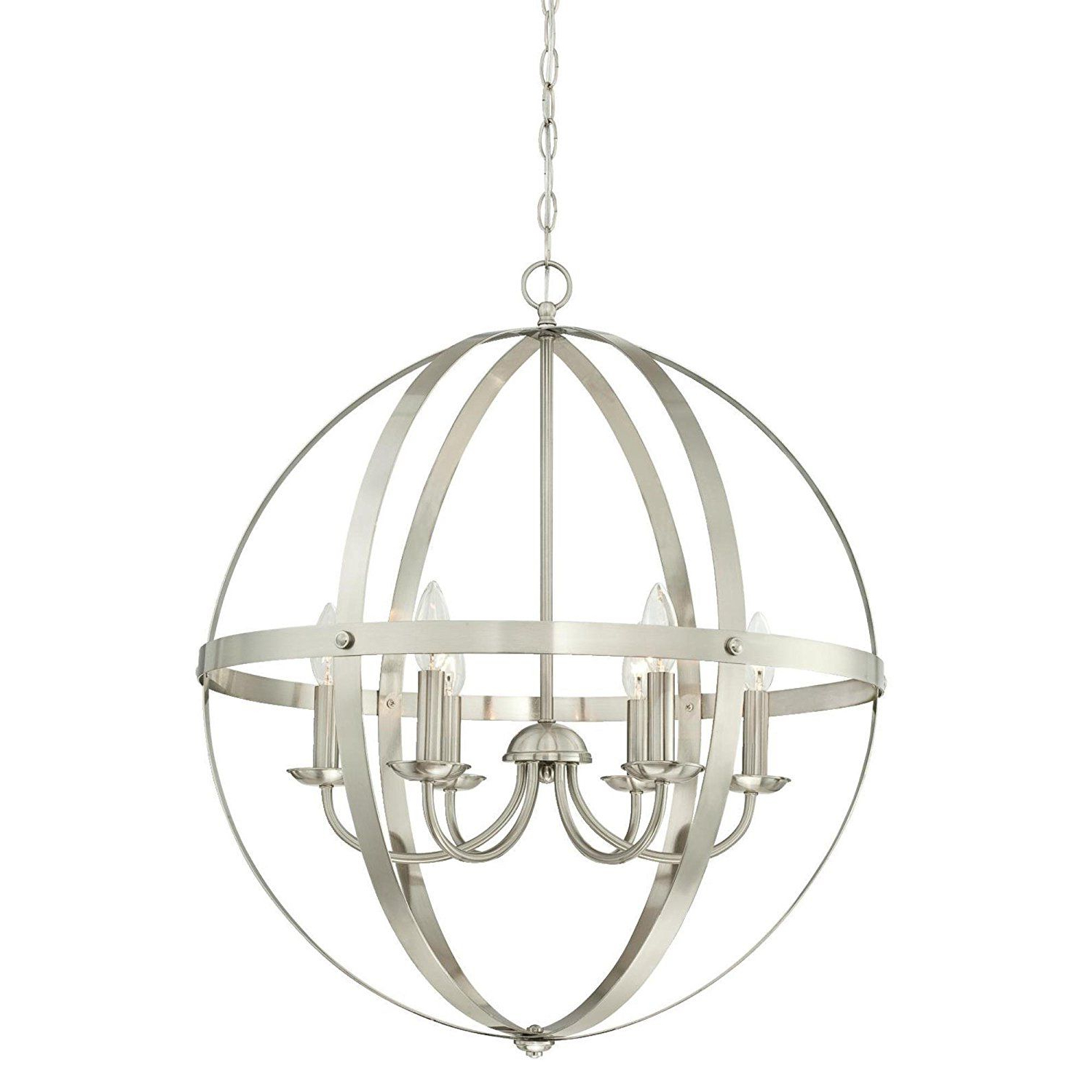 La Barge 3 Light Globe Chandeliers For Current Open Cage Chandelier — Perfect For Vintage Inspired (Gallery 17 of 20)