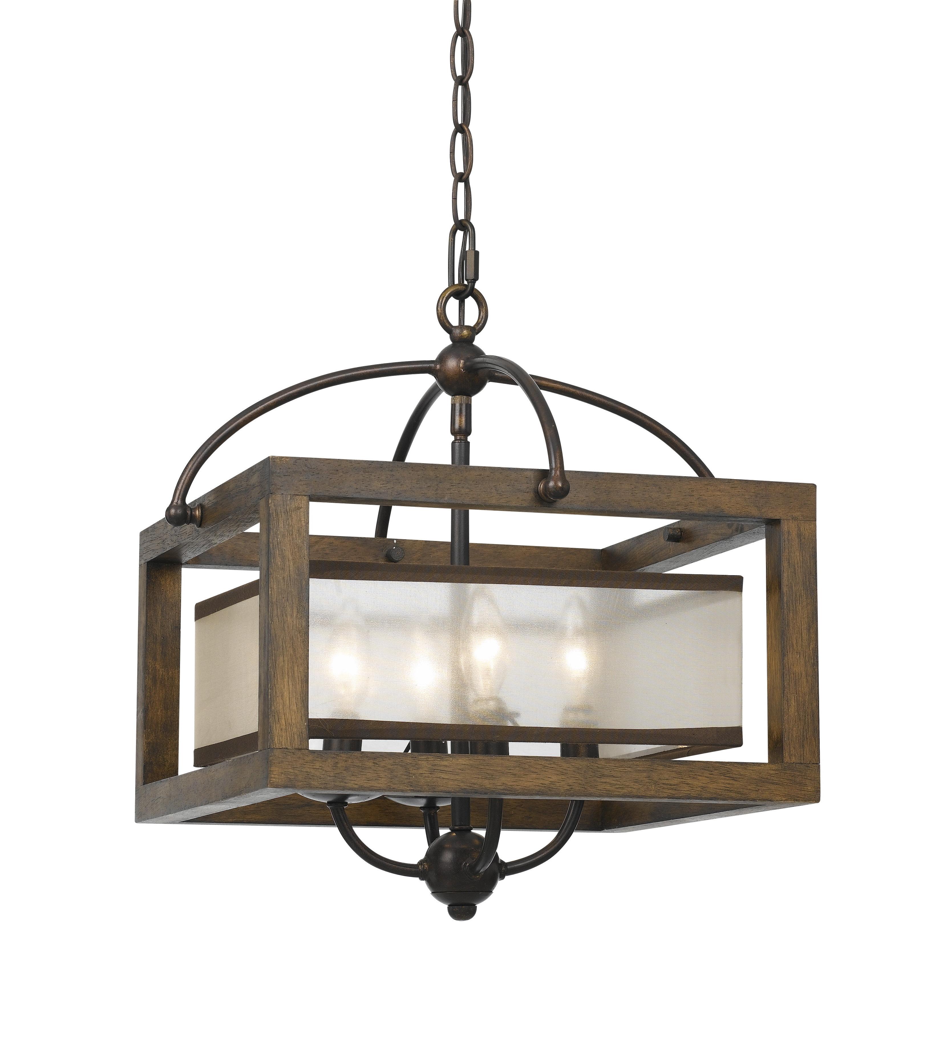 La Sarre 3 Light Globe Chandeliers Within Trendy Bundoran 4 Light Square/rectangle Chandelier (View 11 of 20)