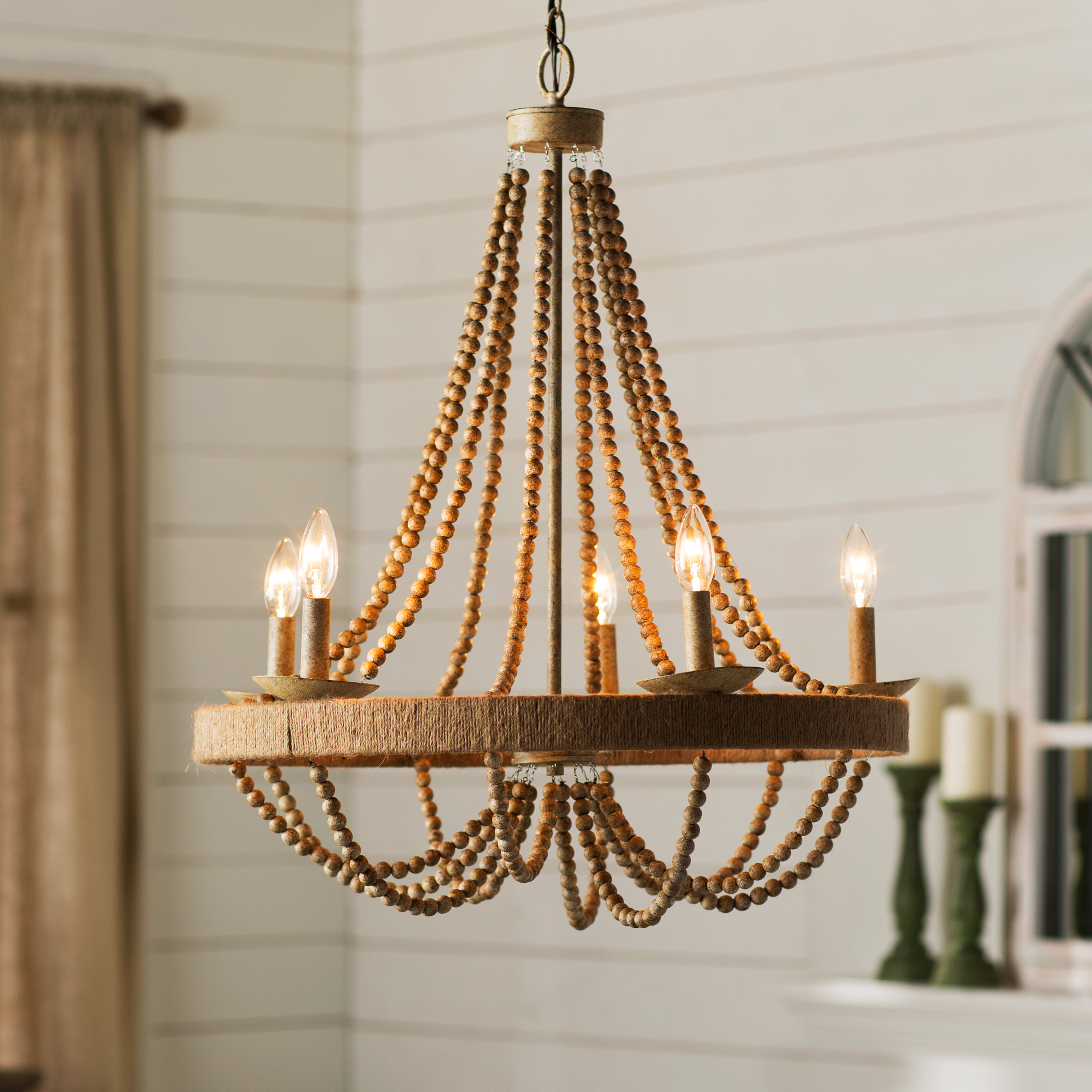 Ladonna 5 Light Novelty Chandeliers Pertaining To Latest Duron 5 Light Empire Chandelier (View 4 of 20)