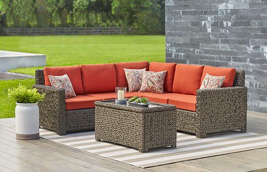 Laguna Point Collection – Outdoors – The Home Depot Throughout Latest Laguna Outdoor Sofas With Cushions (Gallery 9 of 20)