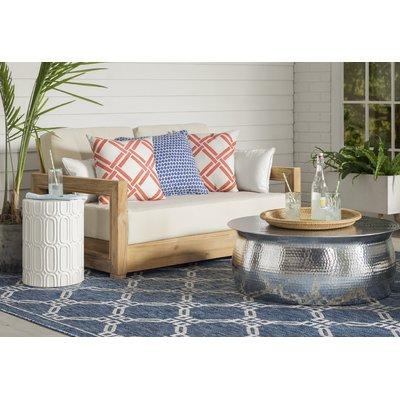 Lakeland Teak Loveseat With Cushions (View 9 of 20)