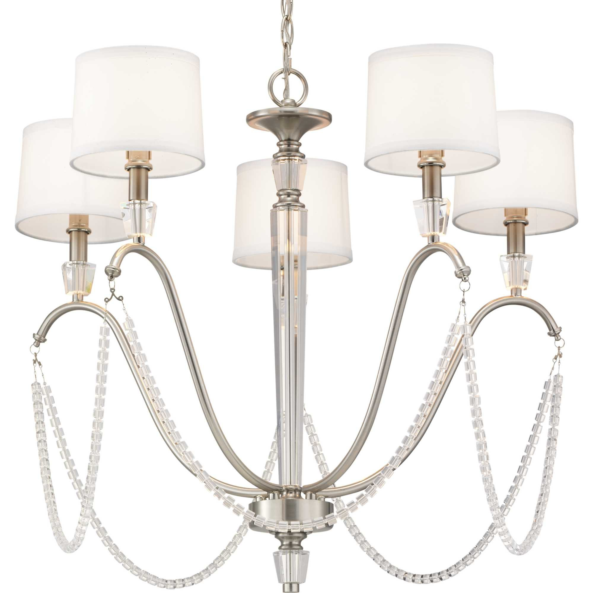 Lappin 5 Light Candle Style Chandelier Intended For Well Liked Florentina 5 Light Candle Style Chandeliers (View 11 of 20)