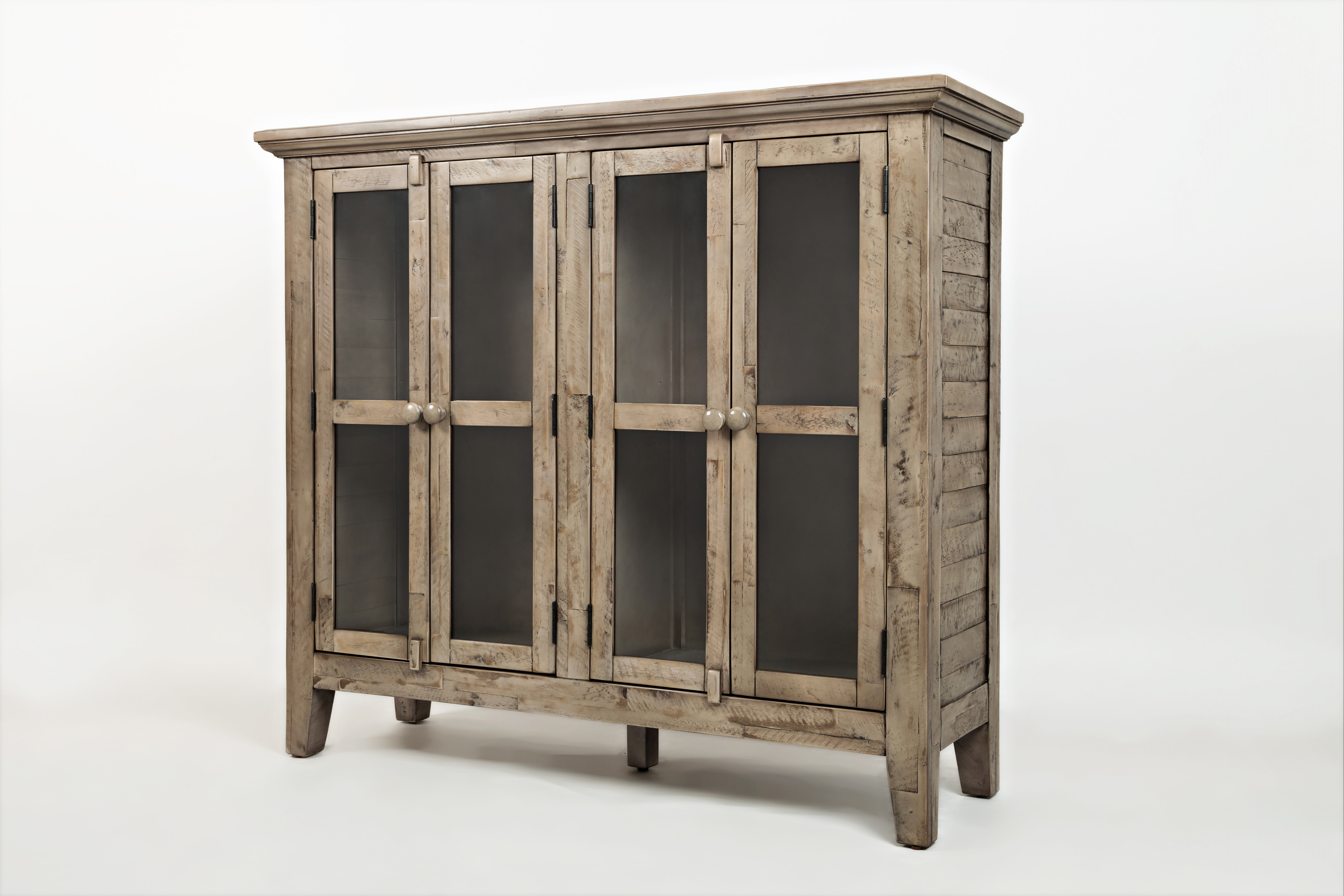 Lark Manor Eau Claire 4 Door Accent Cabinet Regarding Well Liked Eau Claire 6 Door Accent Cabinets (View 13 of 20)