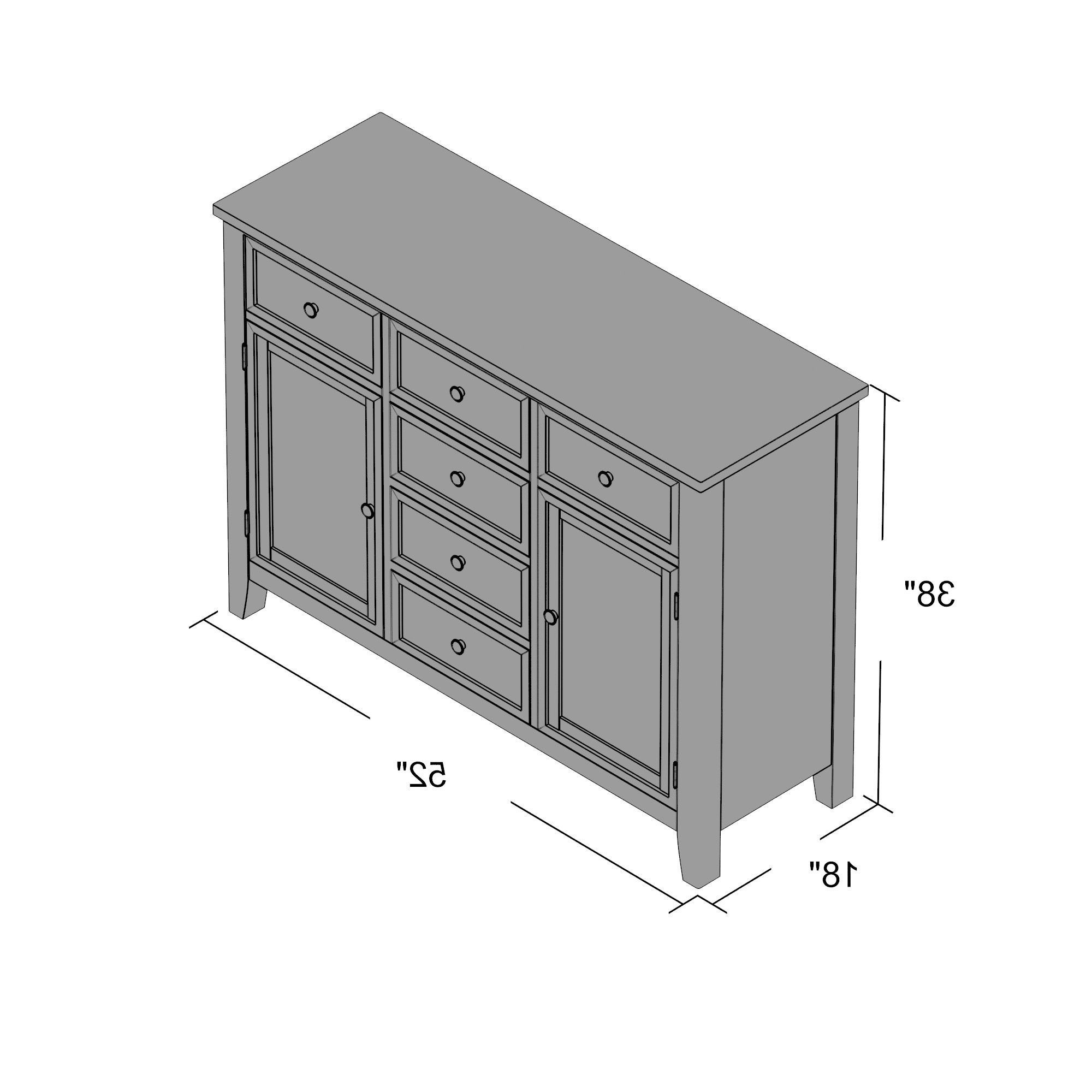 Lark Manor Sideboard – Slubne Suknie With Regard To Trendy Saint Gratien Sideboards (View 16 of 20)