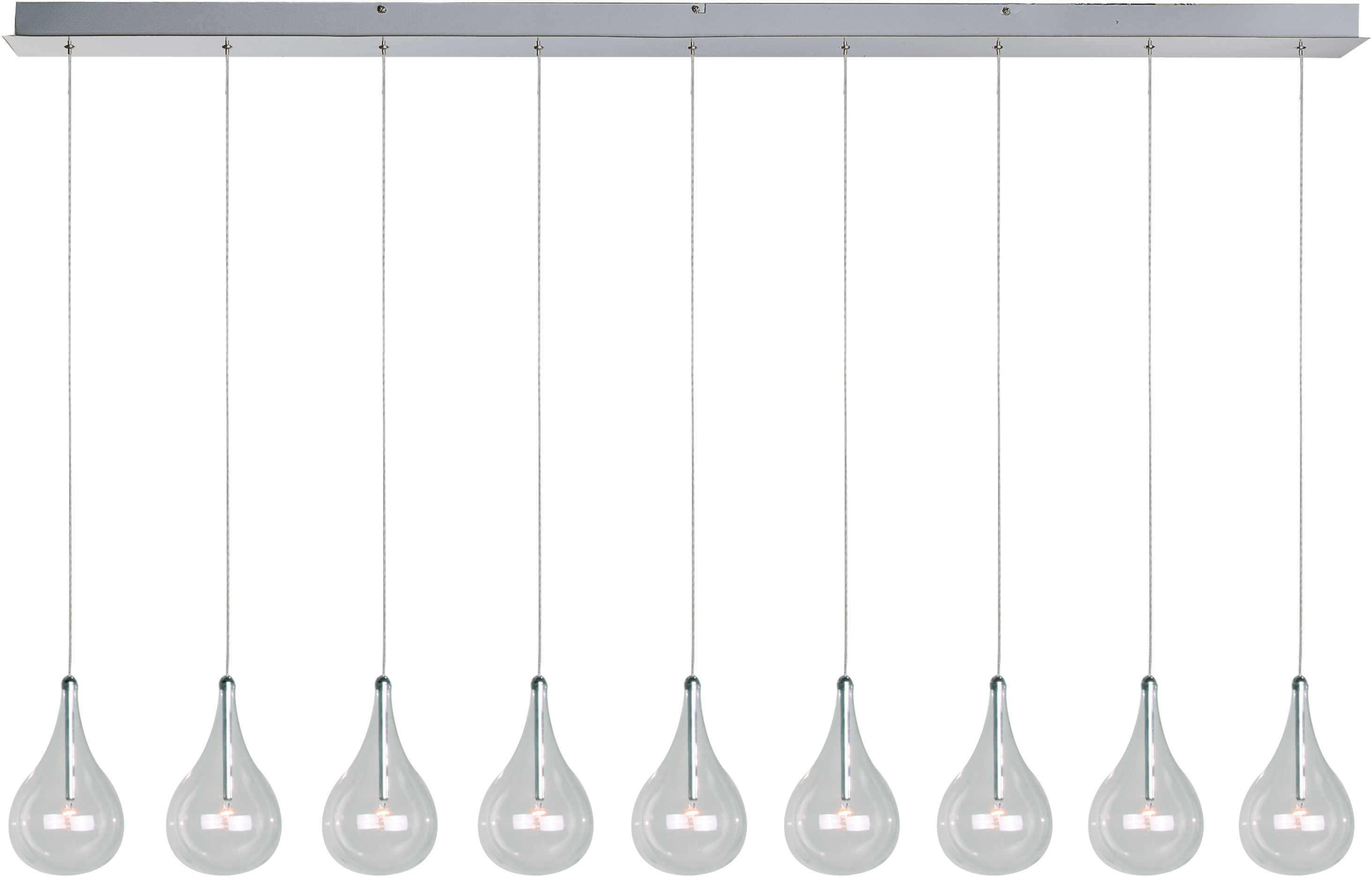 Larmes 9 Light Pendant Regarding Most Recent Neal 9 Light Kitchen Island Teardrop Pendants (View 6 of 20)