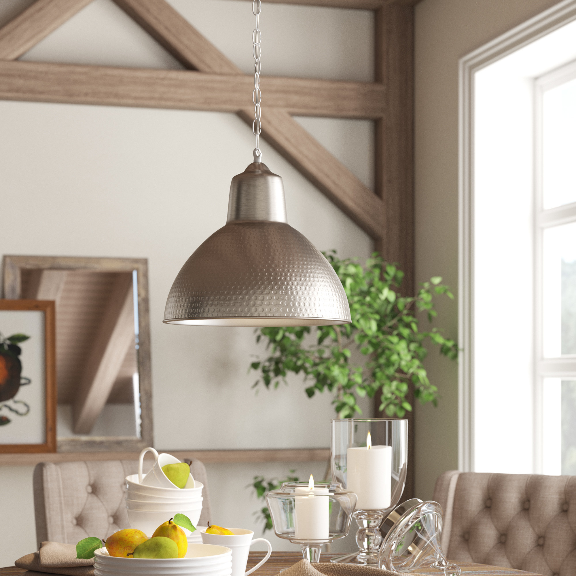 Latest Bainbridge 1 Light Single Dome Pendant Throughout Monadnock 1 Light Single Dome Pendants (Gallery 12 of 20)