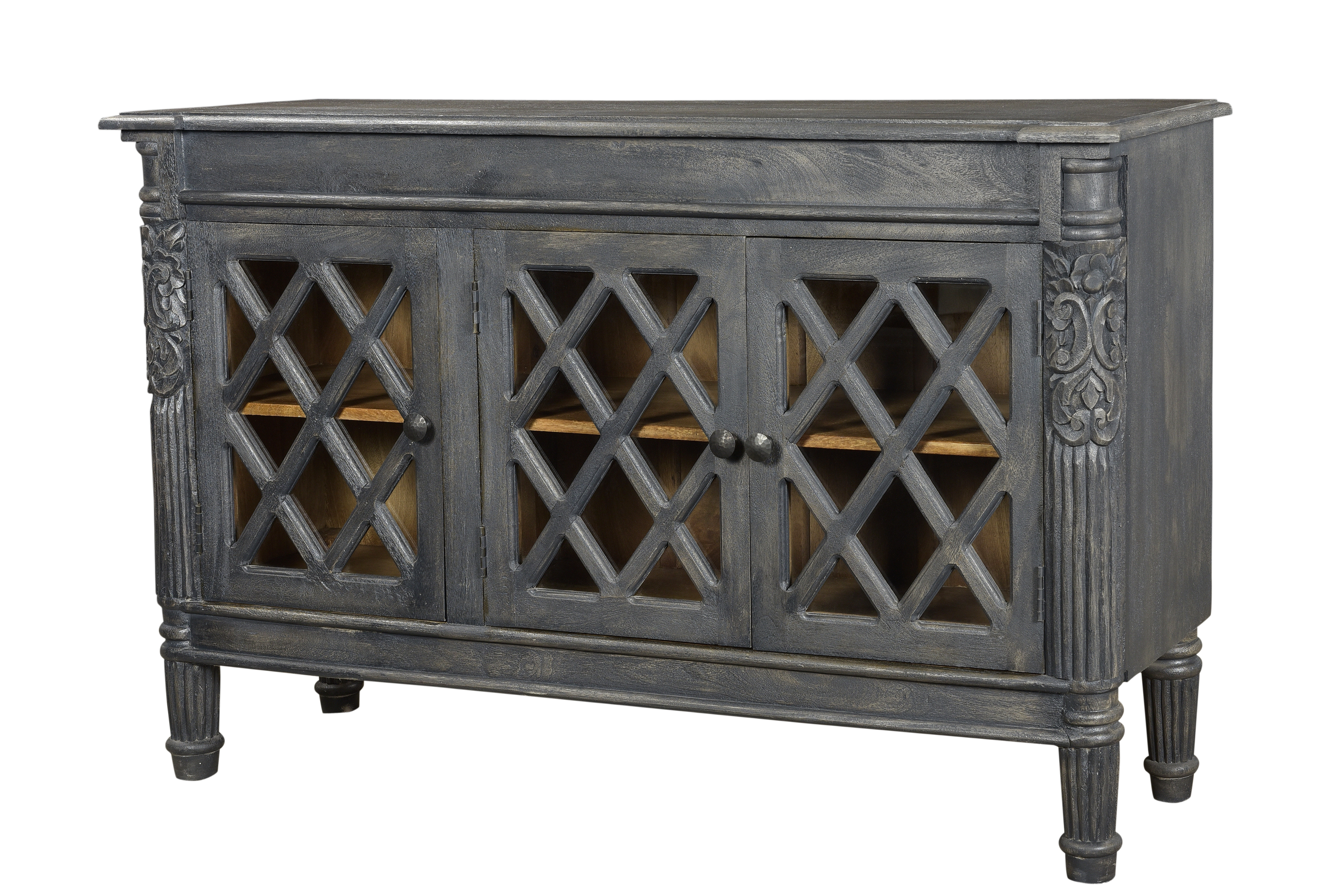 Latest Casolino Sideboards For Rael 3 Door Sideboard (View 5 of 20)