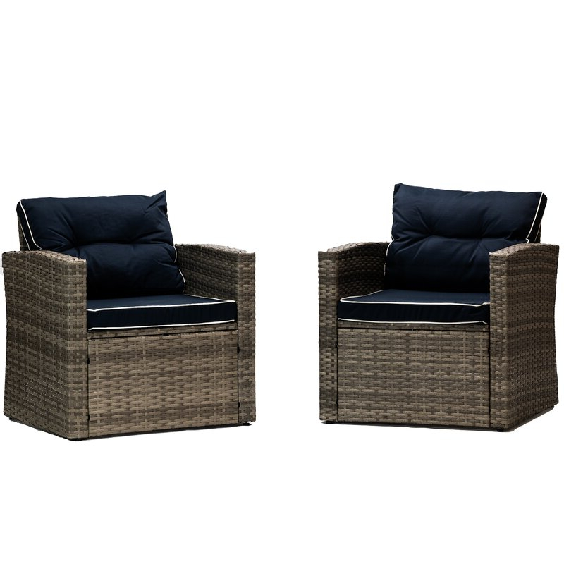 Latest Clifford Patio Chair With Cushions For Clifford Patio Sofas With Cushions (View 7 of 20)