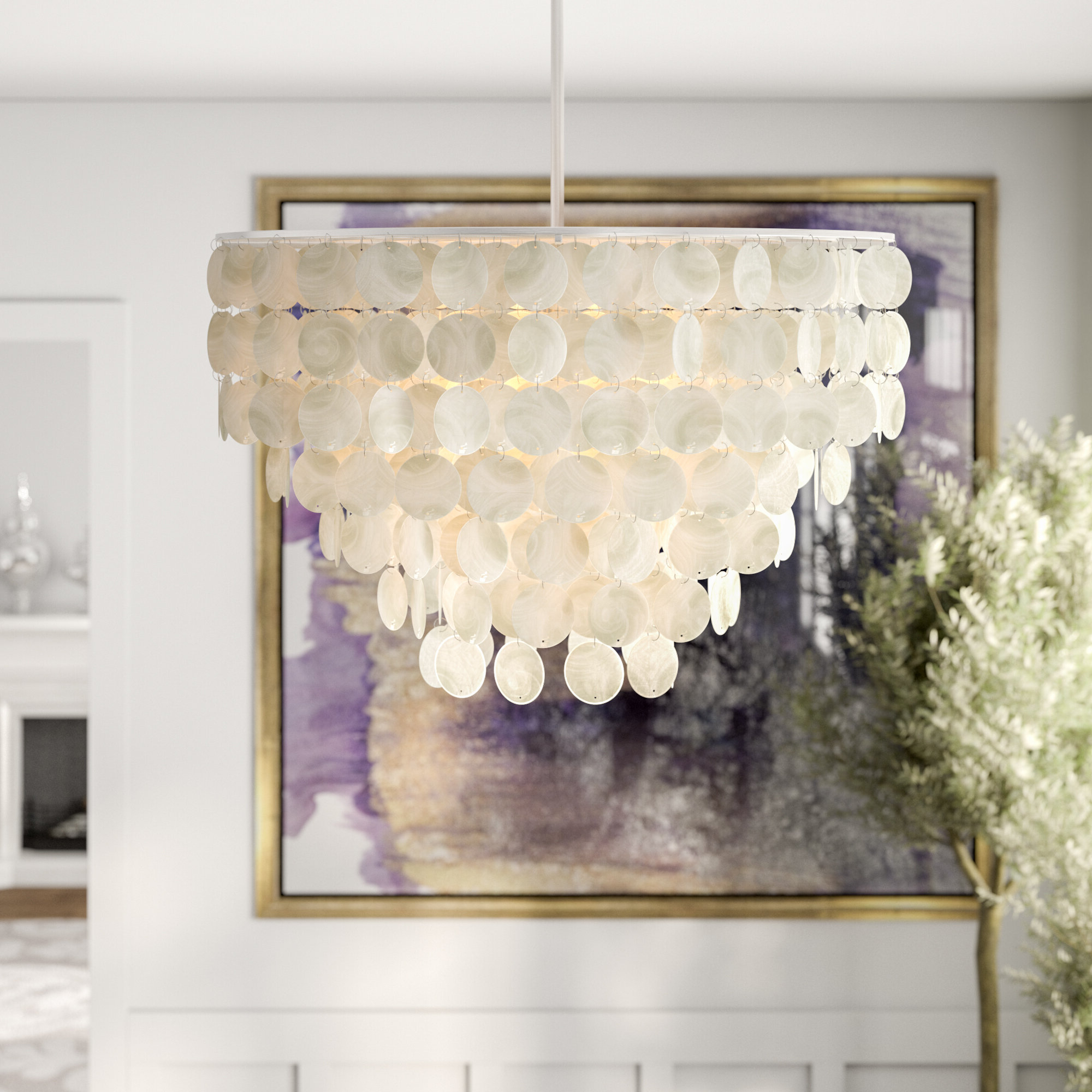 Latest Henry 6 Light Crystal Chandelier With Regard To Bramers 6 Light Novelty Chandeliers (View 13 of 20)
