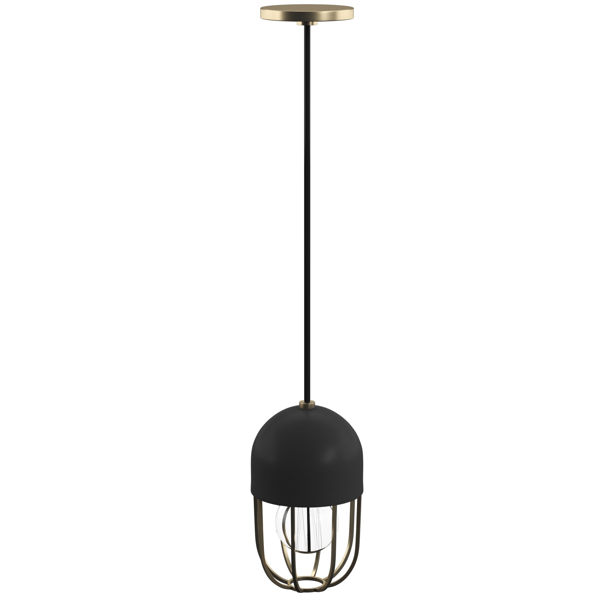 Latest Kater 1 Light Single Dome Pendant With Priston 1 Light Single Dome Pendants (Gallery 18 of 20)