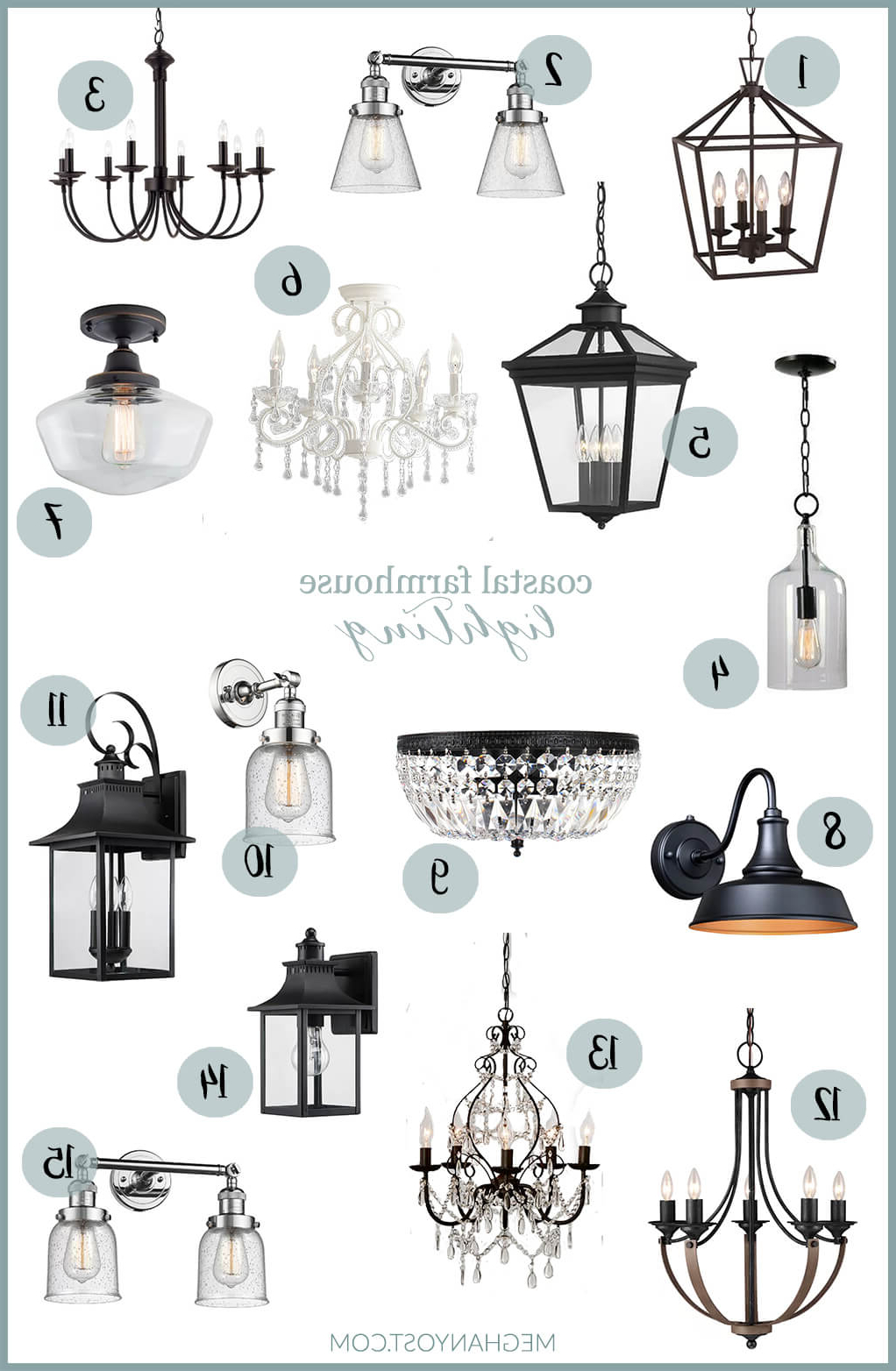 Latest Kenna 5 Light Empire Chandeliers Throughout Coastal Farmhouse Lighting Finds – Meghan Yost (View 12 of 20)