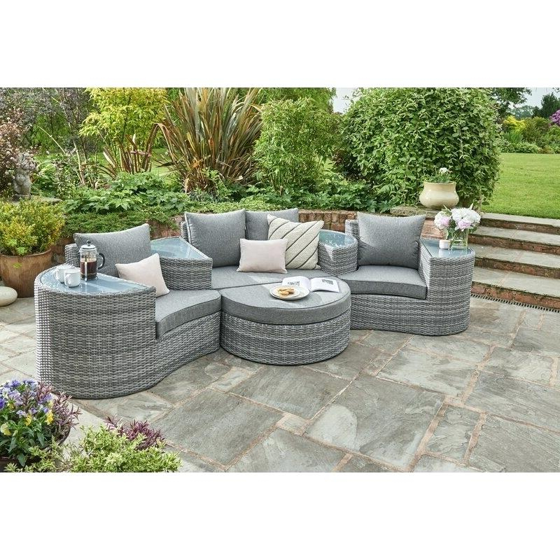 Latest Lavina Outdoor Patio Daybeds With Cushions Inside Daybed Outdoor Furniture – Agendamacher.co (Gallery 12 of 20)