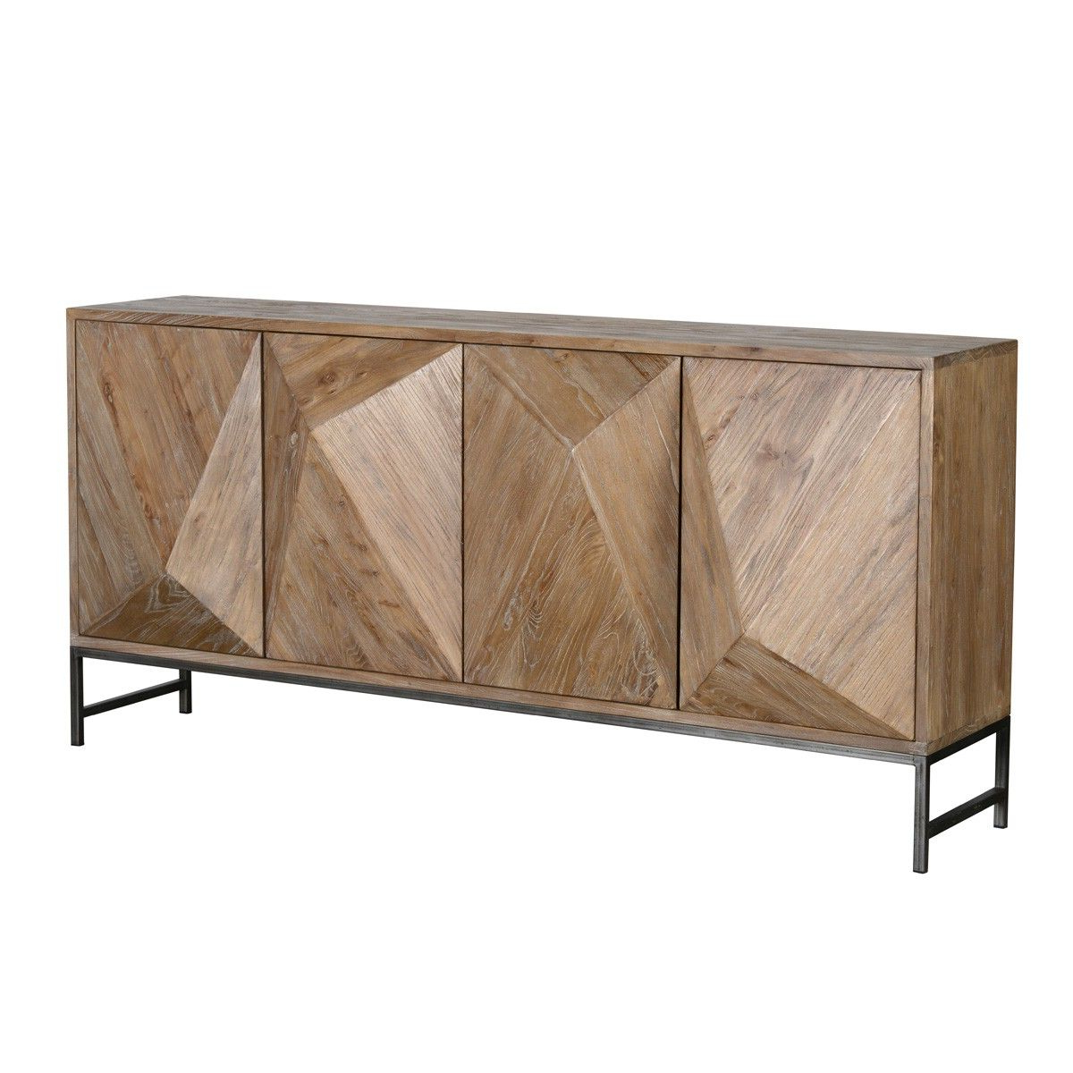 Latest Maddock 4Dr Sideboard – Cabinets – Furniture – Products With Regard To Rosson Sideboards (Gallery 8 of 20)