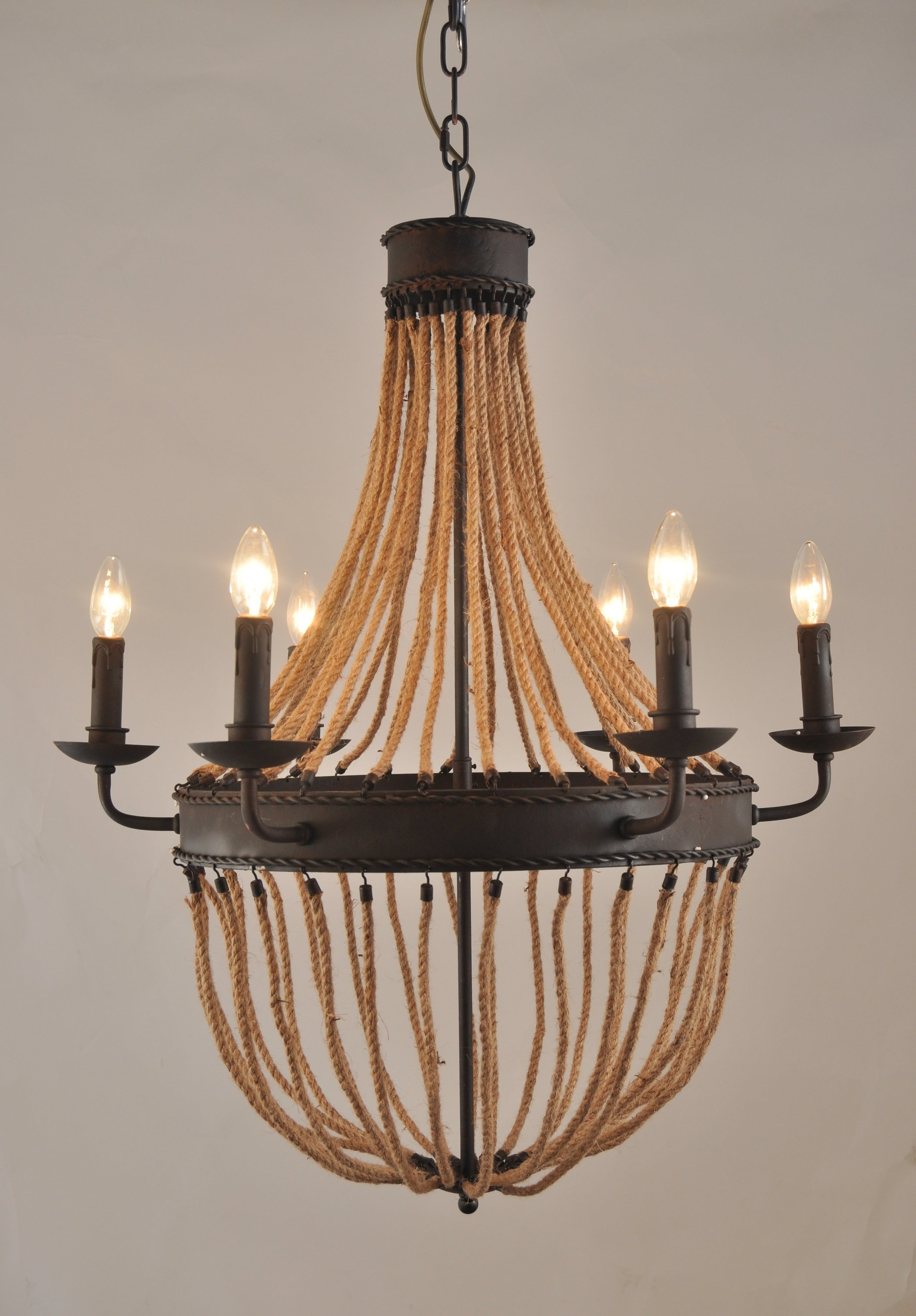 Latest Maryjo 6 Light Empire Chandelier Regarding Phifer 6 Light Empire Chandeliers (Gallery 5 of 20)